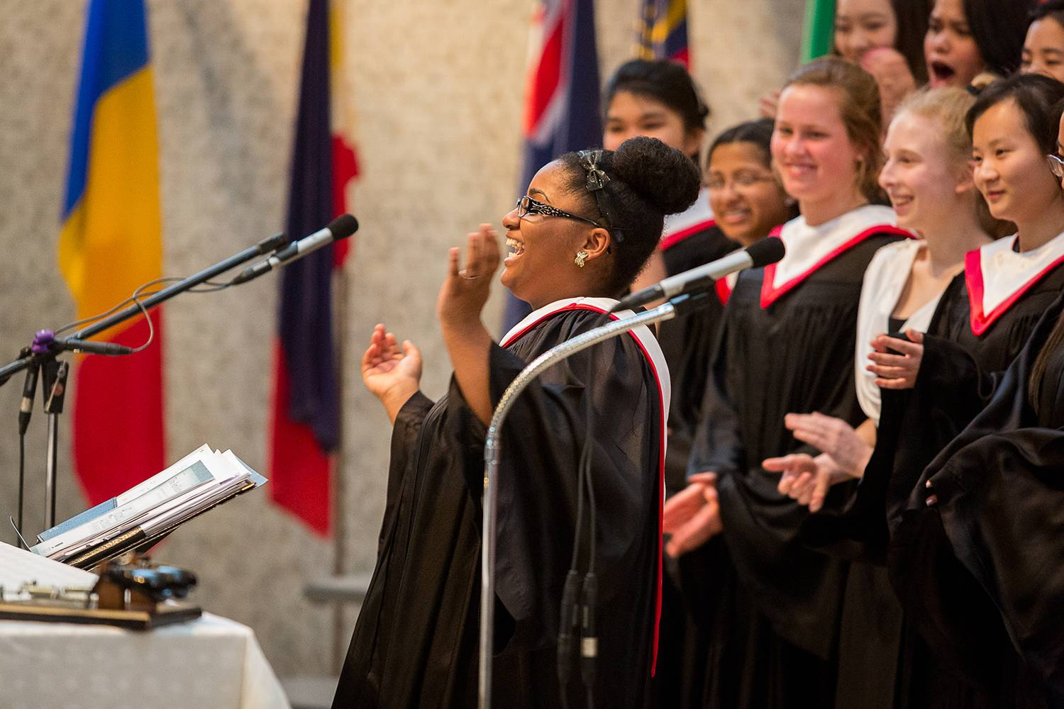 Performances by award-winning choral groups are among the many things to see and hear during Fine Arts Evening at Woodlands Academy of the Sacred Heart in Lake Forest. This annual event showcases student expression via visual art forms, music and choreography. It's open to the public free of charge from 6 to 8:30 p.m. Wednesday, May 14.Woodlands Academy