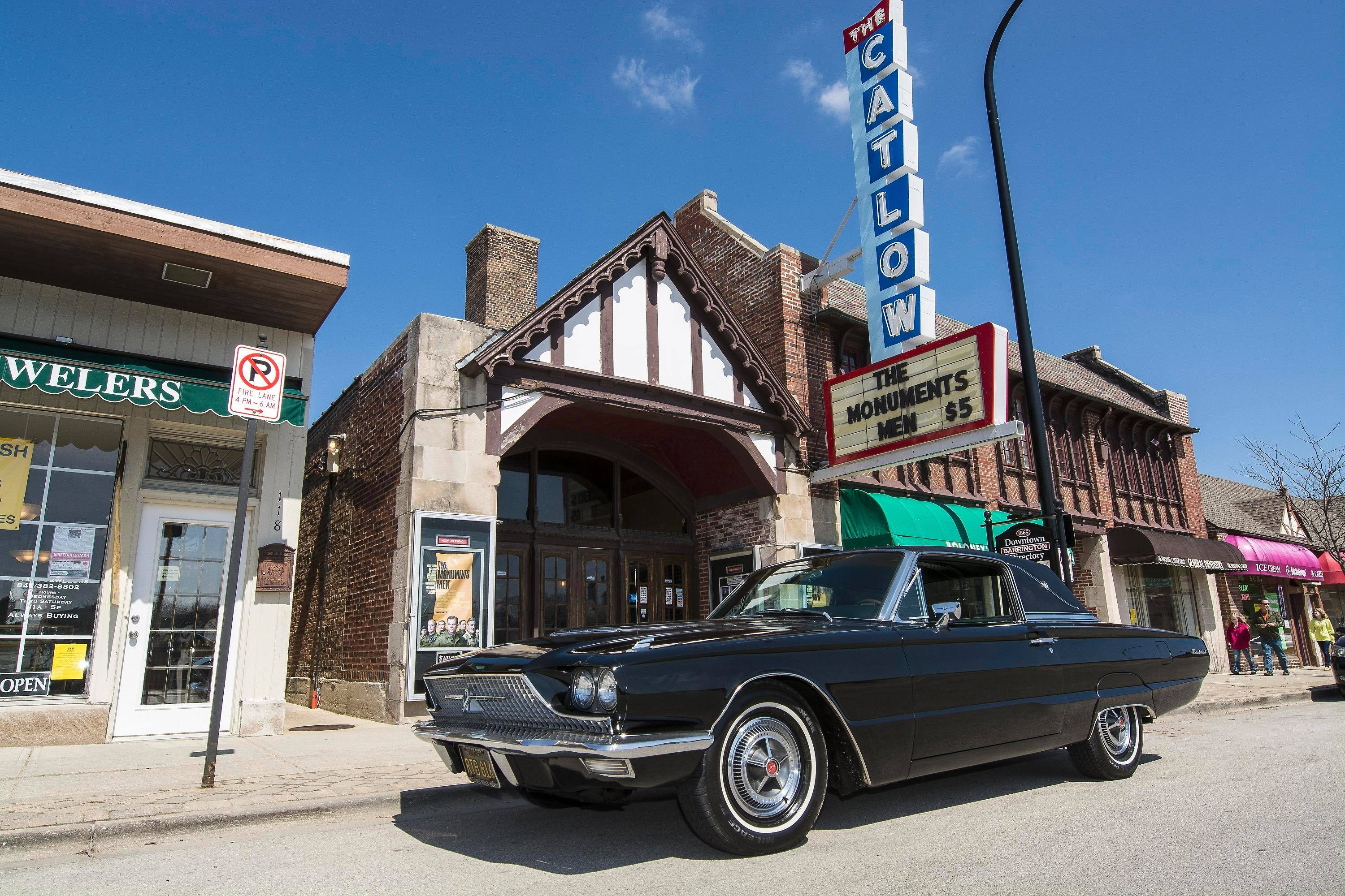 This 1966 Ford Thunderbird once belonged to Chicago-born actor Jay Novello. It is now owned by his nephew.
