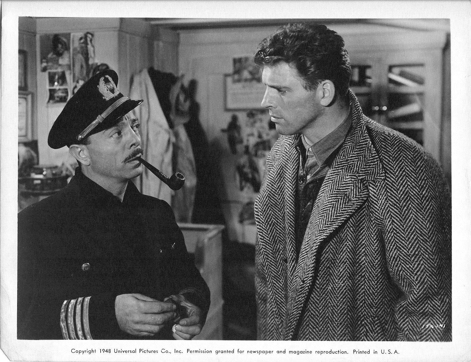"Novello, left, acted in ""Kiss the Blood Off My Hands"" with Burt Lancaster in 1948. He also appeared in films with Elvis, Laurel and Hardy, and Mickey Rooney."