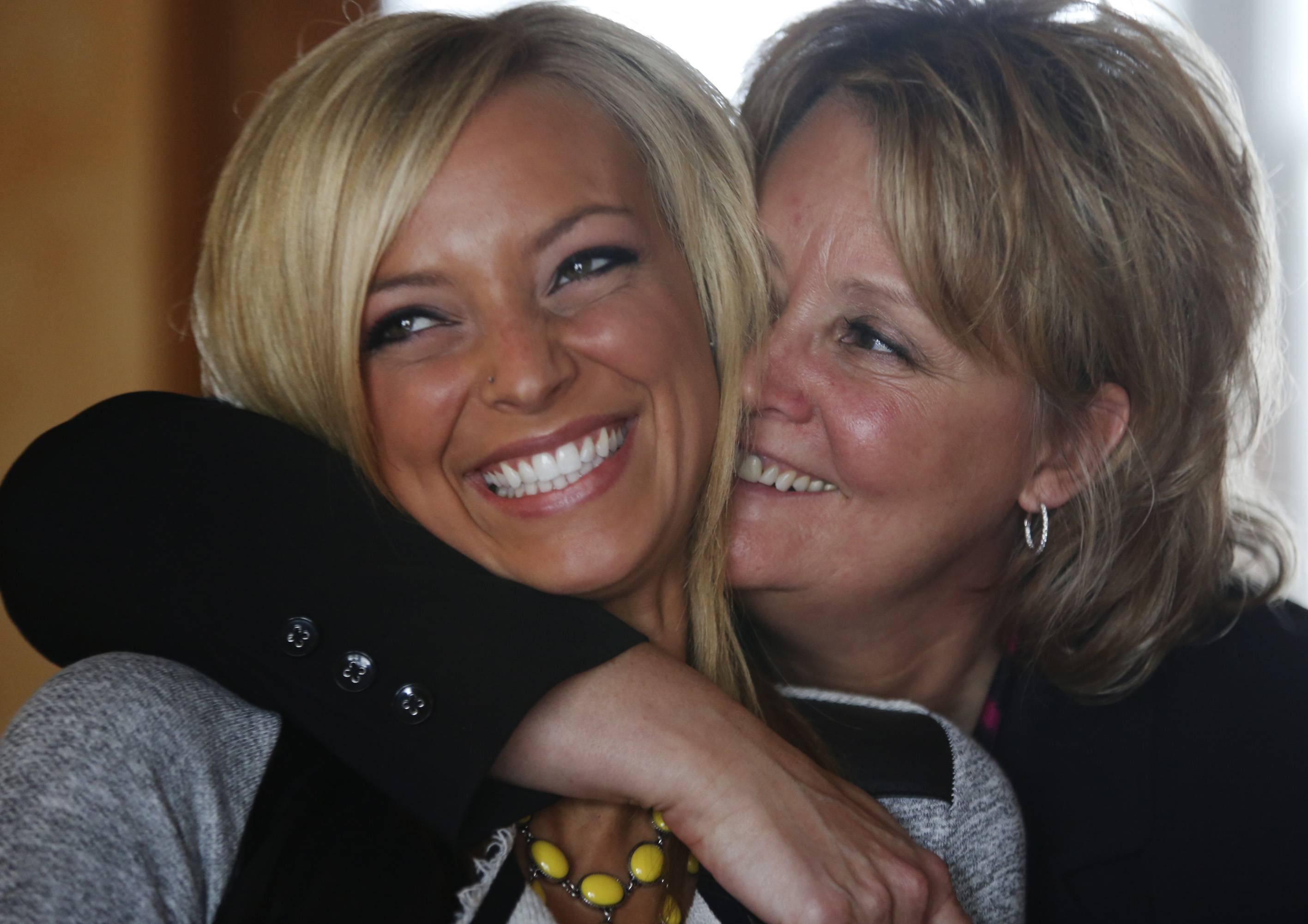 Brooke Martin and her mother Esther, of Woodstock.
