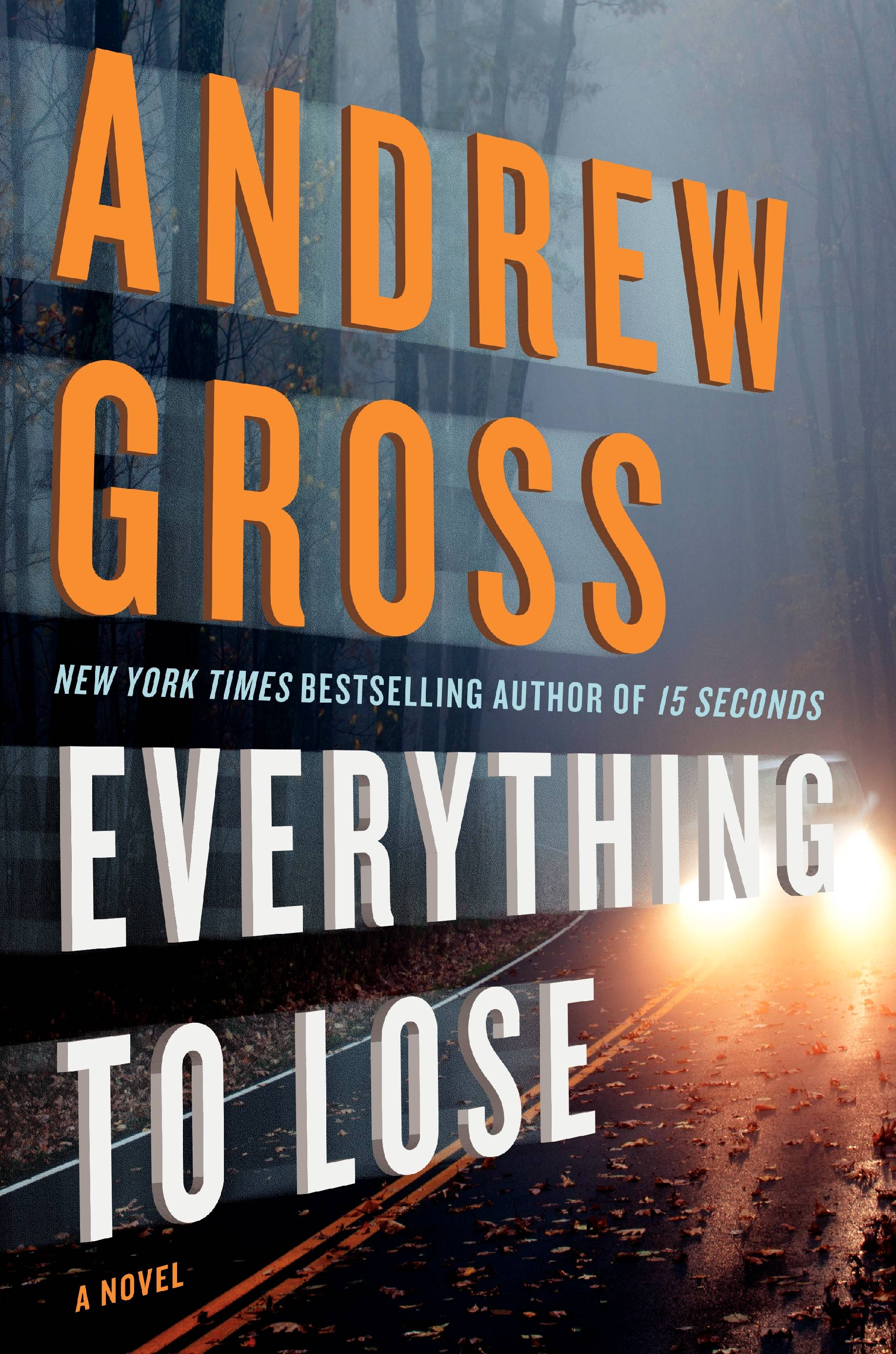 """Everything to Lose"" by Andrew Gross thrills."
