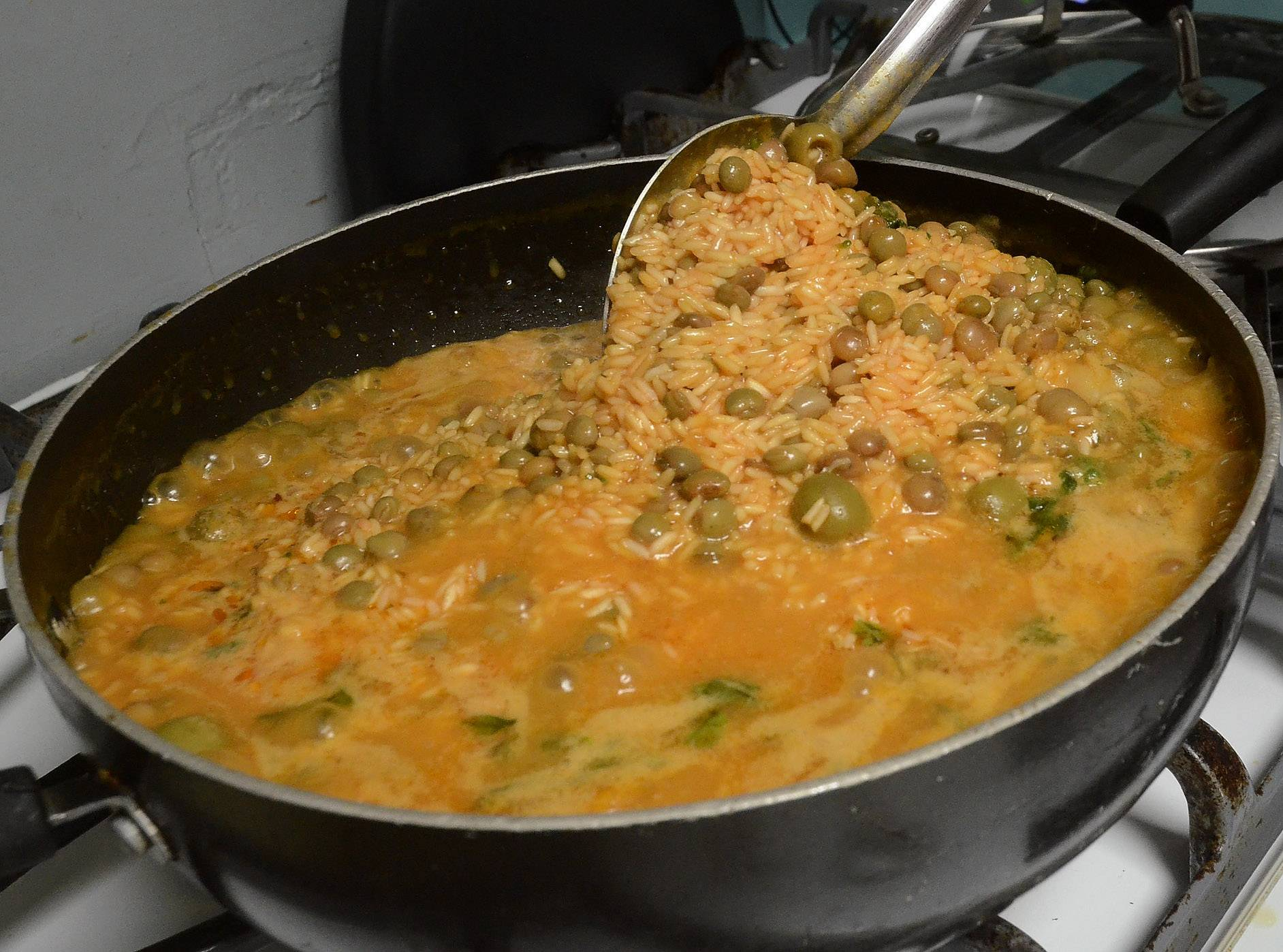 Arroz con Gandules -- Rice with Pigeon Peas