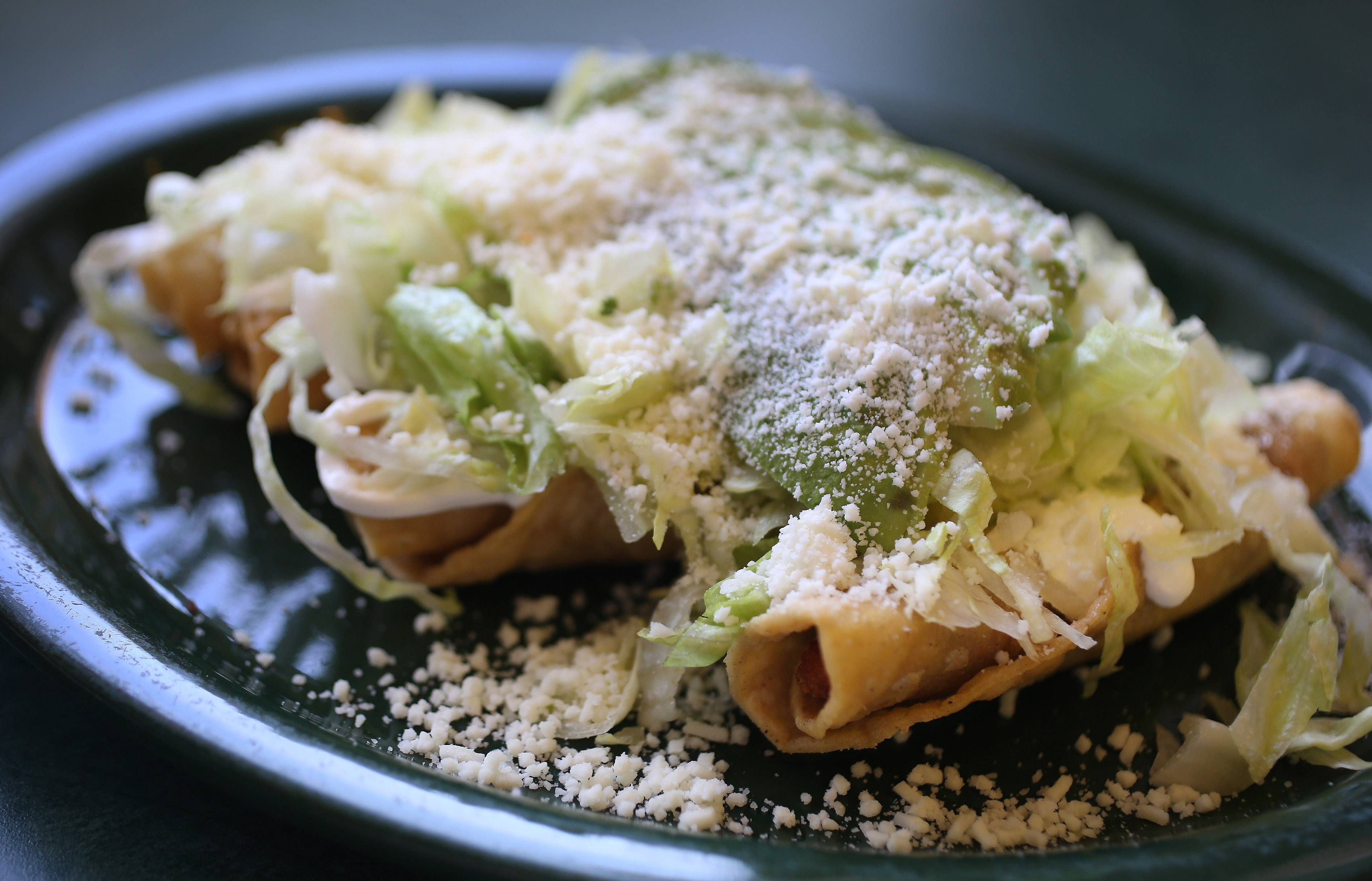 Momcorn serves a variety of savory and sweet flautas.