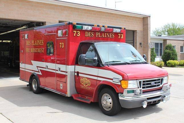 "Des Plaines' city council voted 5-4 Monday to purchase a horizontal exhaust ambulance, after rescinding an earlier vote to buy a vertical exhaust ambulance that some aldermen believe is safer. One alderman claimed the vote to rescind was the result of ""political games"" and ""arm twisting."""