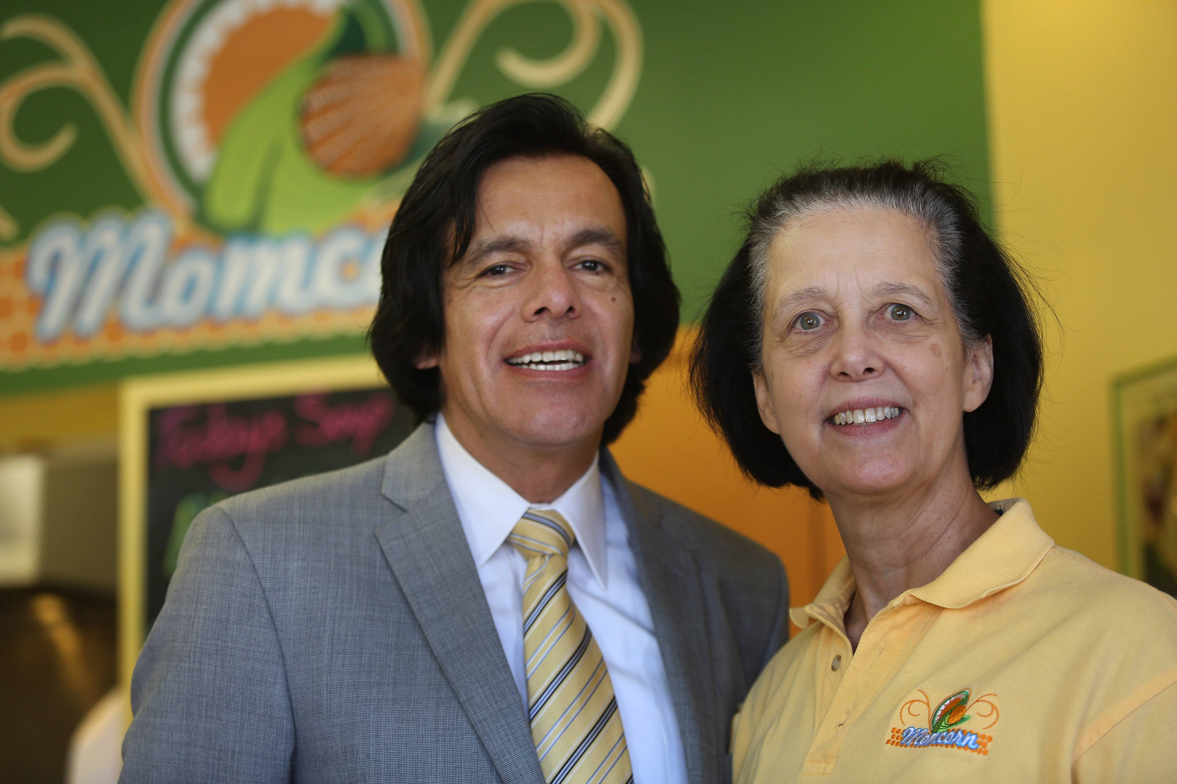 Sergio Rivera and Kathy Ross opened Momcorn restaurant in Gurnee in 2012.