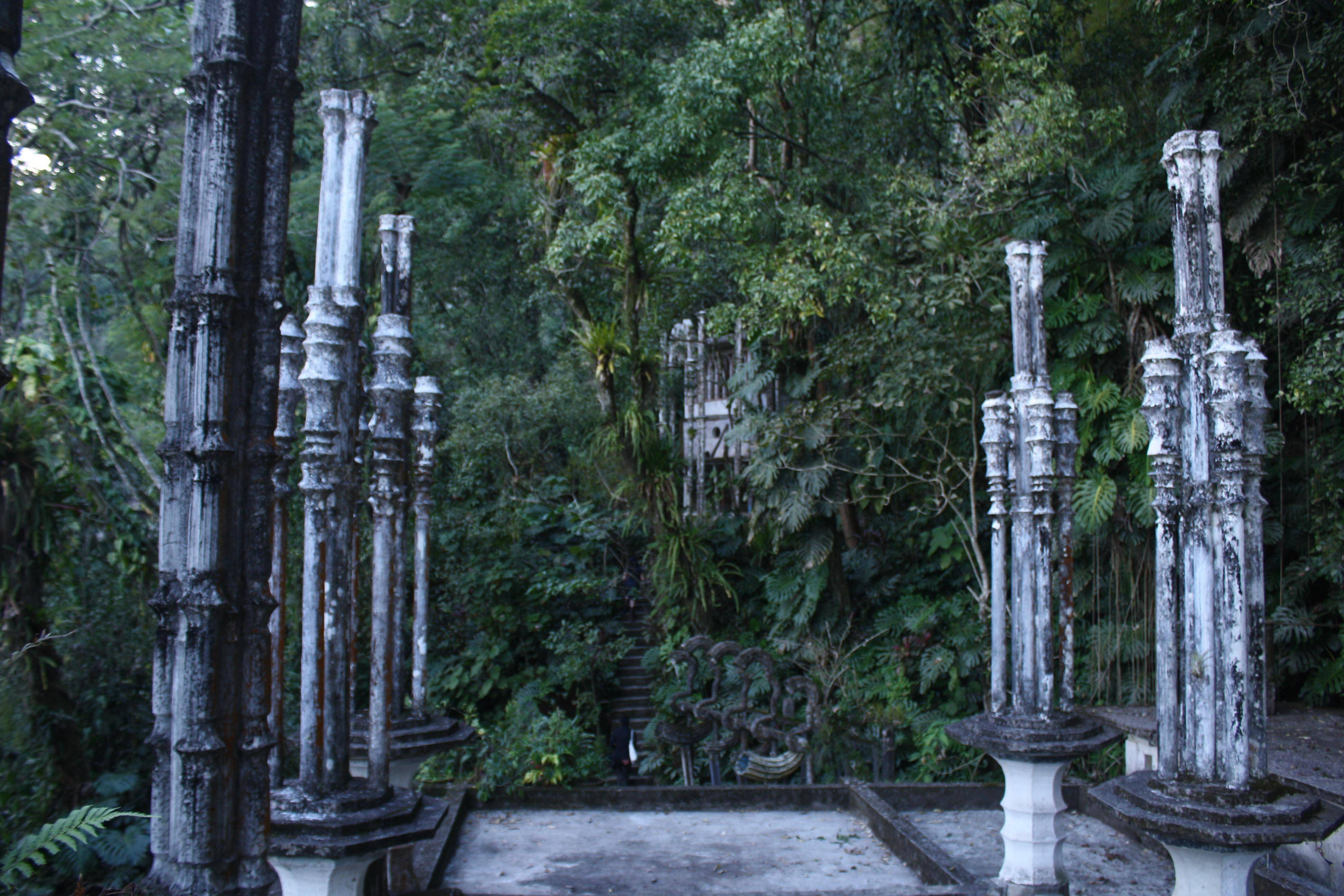 With park guides' help, visitors can access the most remote corners of Las Pozas.