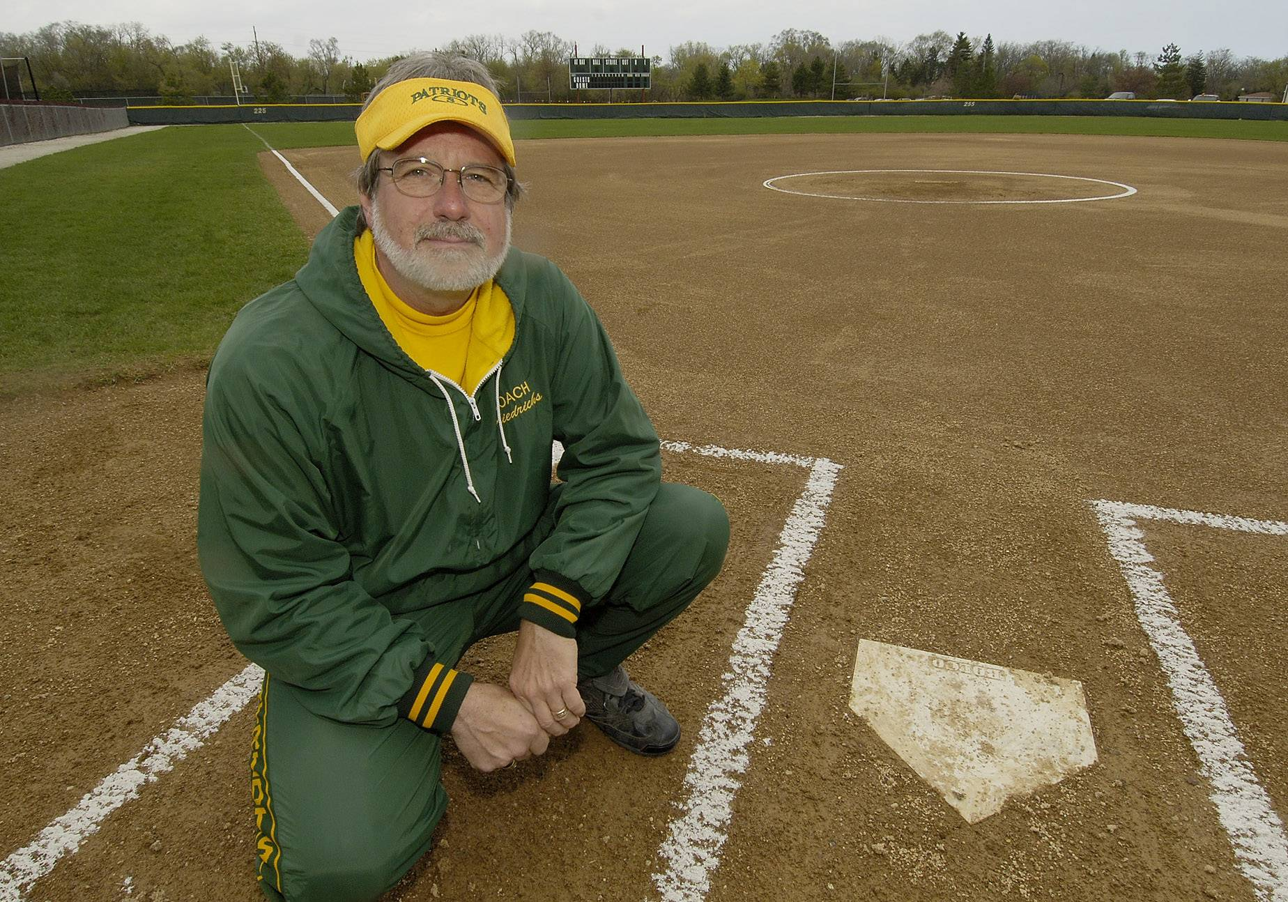 Stevenson softball coach Larry Friedrichs has earned career win No. 500.