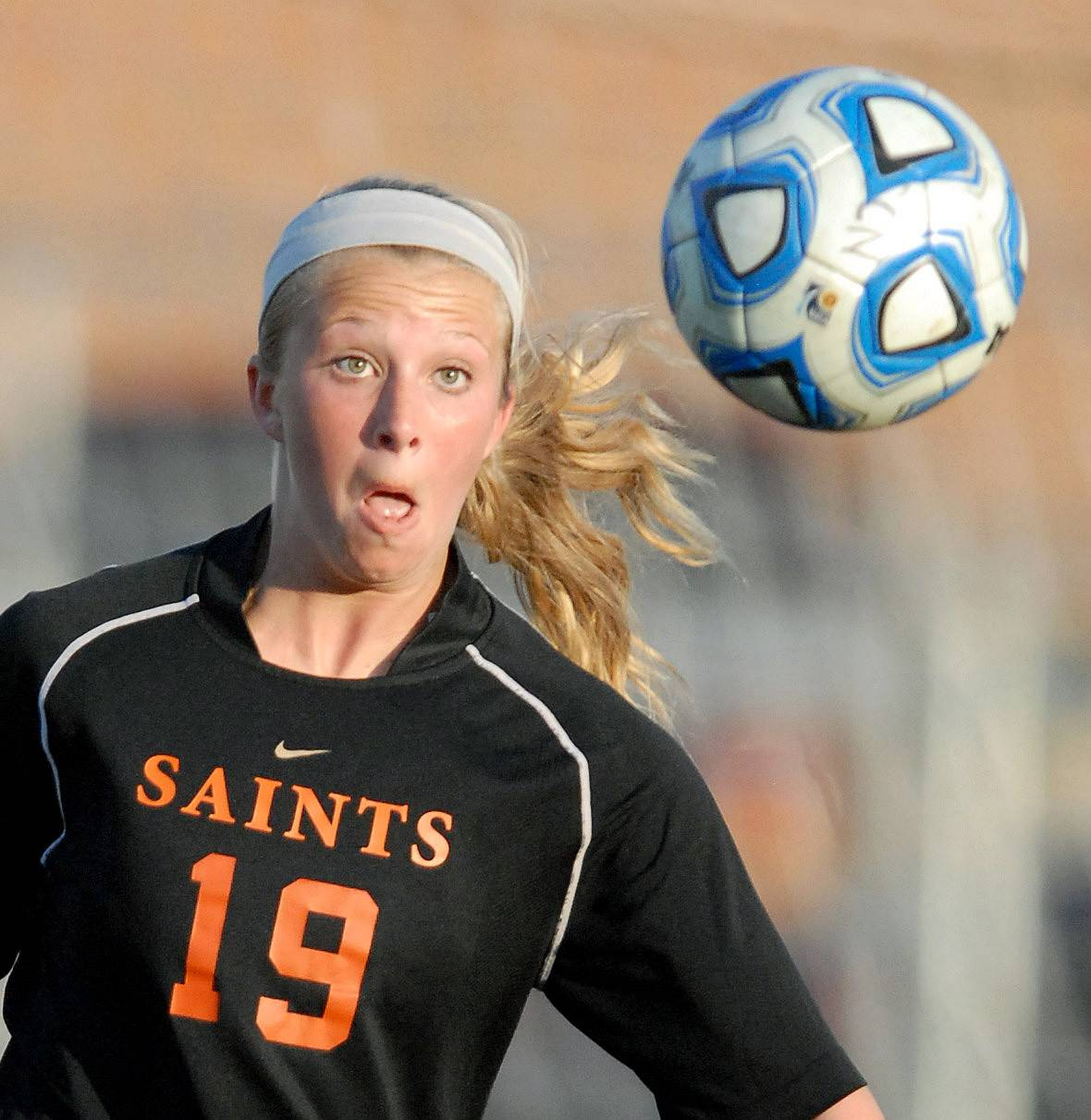 St. Charles East's Sophie Jendrzeczyk on Tuesday, April 22.