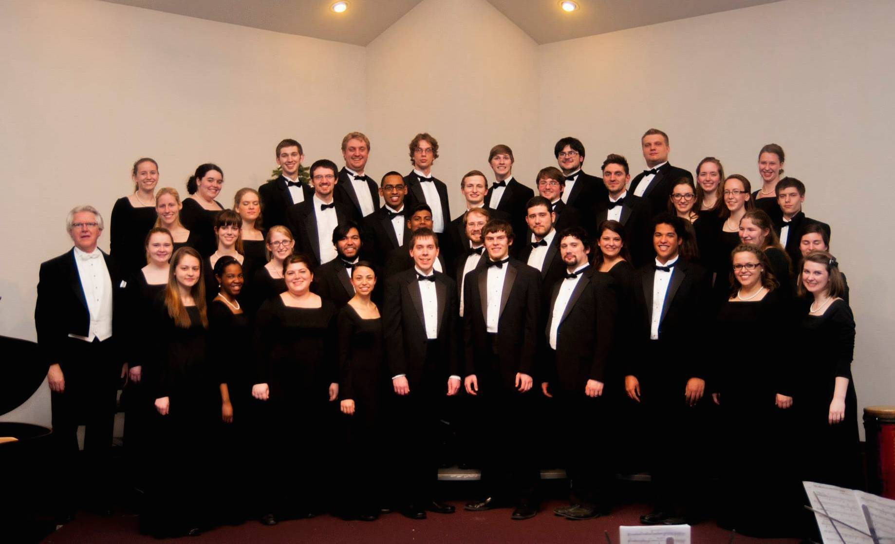 The Concert Choir of Trinity International University will perform on Sunday afternoon, May 4, on the campus in Deerfield.