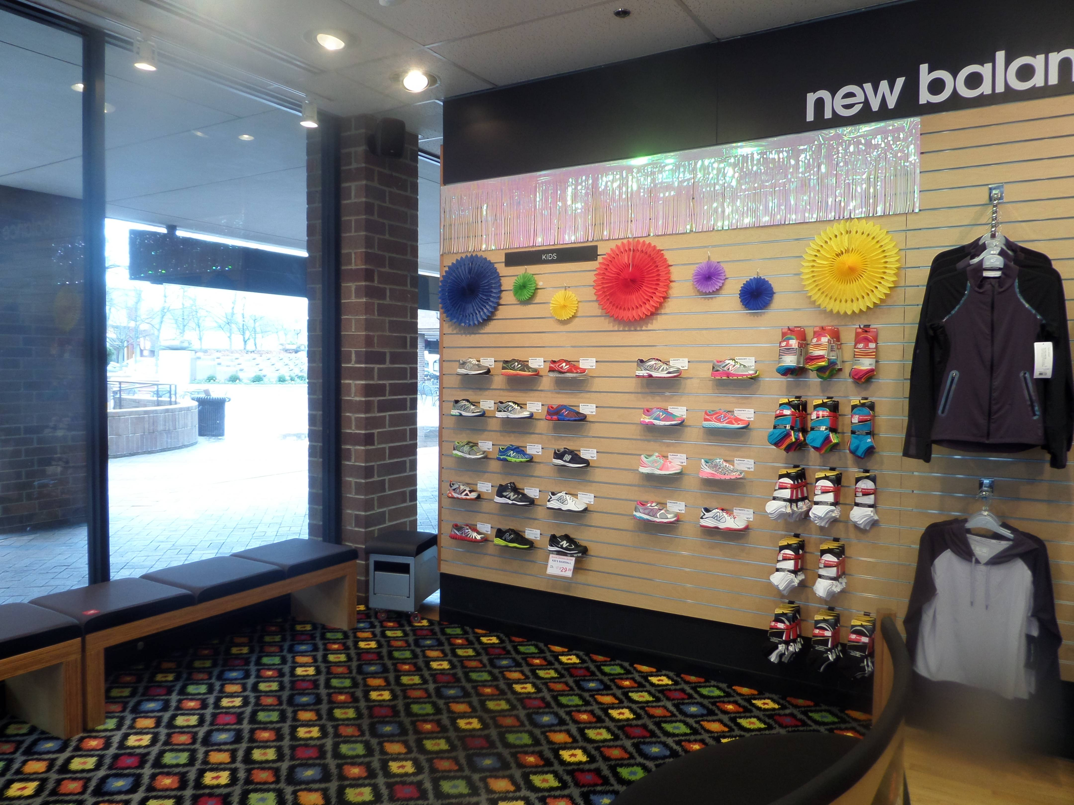 New Balance North Shore Expands Kid's Shoe Offerings