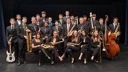 The Wheeling High School Jazz Band I and Director Brian Logan.Steve Donisch