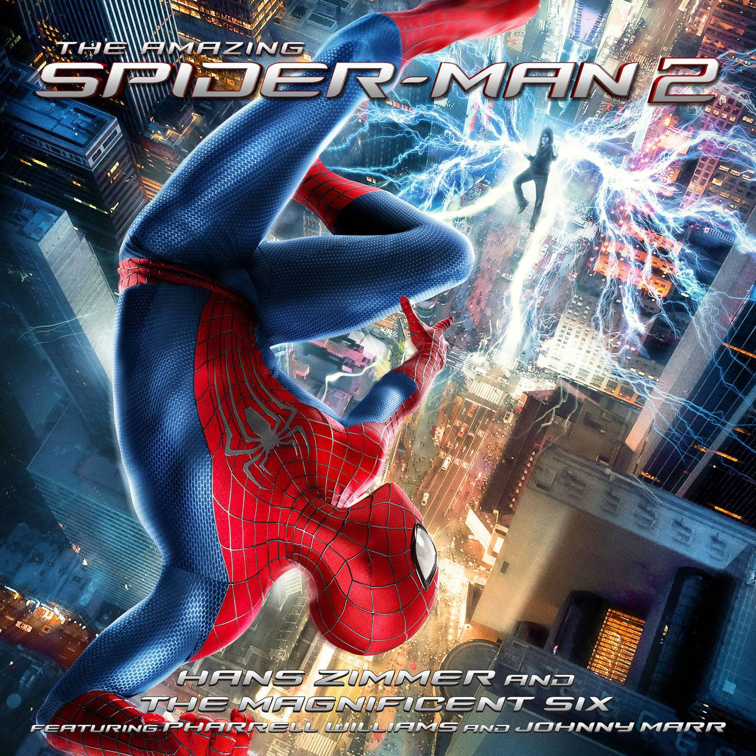 "Hans Zimmer had help from Pharrell for the original motion picture soundtrack for ""The Amazing Spider-Man 2."""