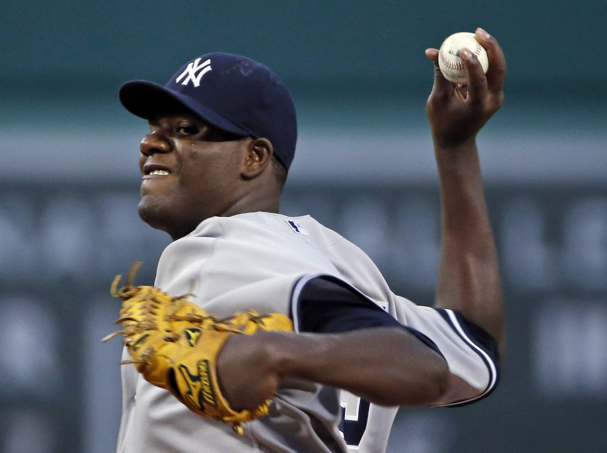New York Yankees starting pitcher Michael Pineda was ejected from Wednesday's game against the Red Sox during the second inning after umpires found a foreign substance on his neck.