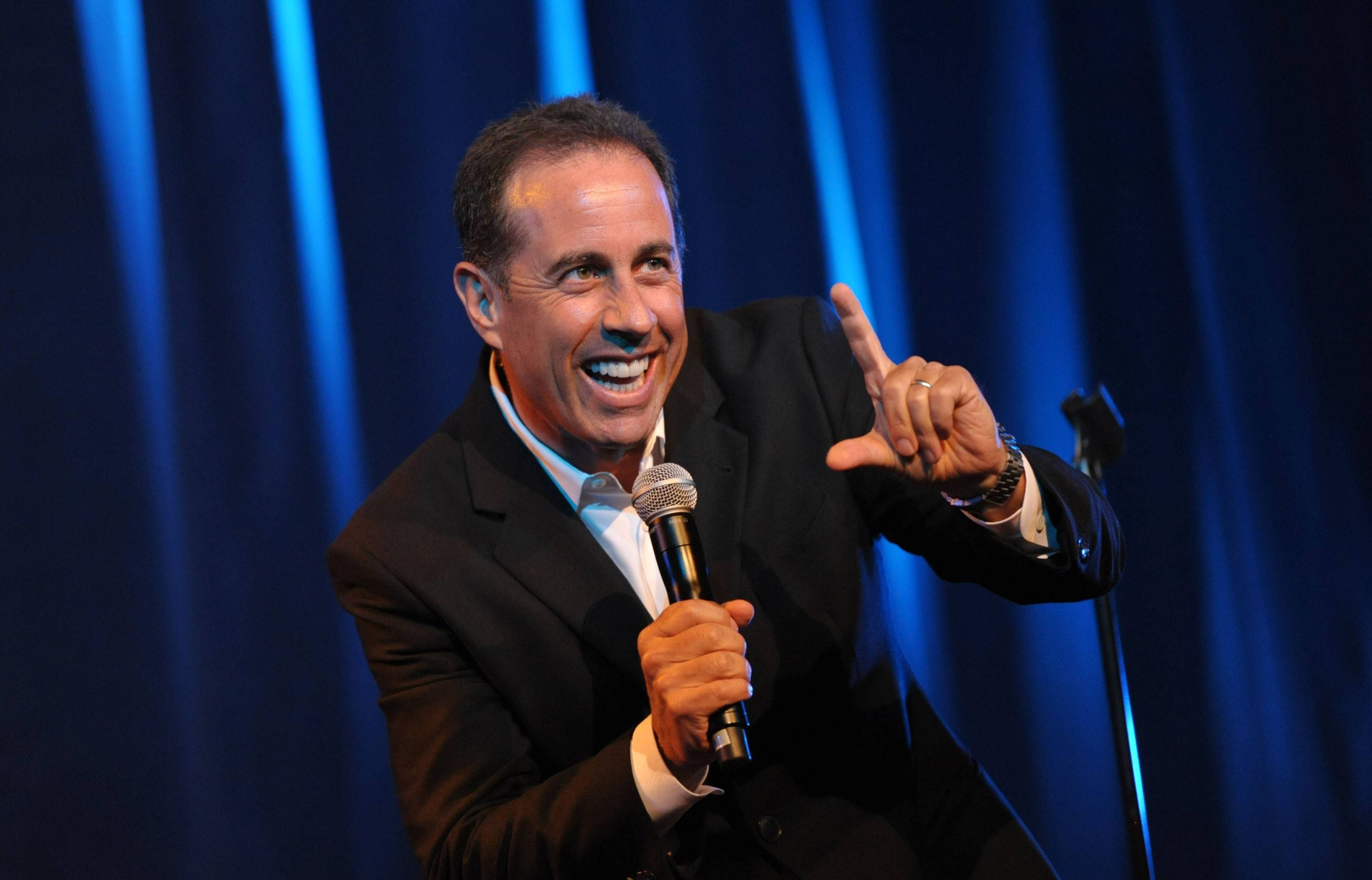 Comedian Jerry Seinfeld will headline on Friday, June 6, at the Genesee Theatre in Waukegan.