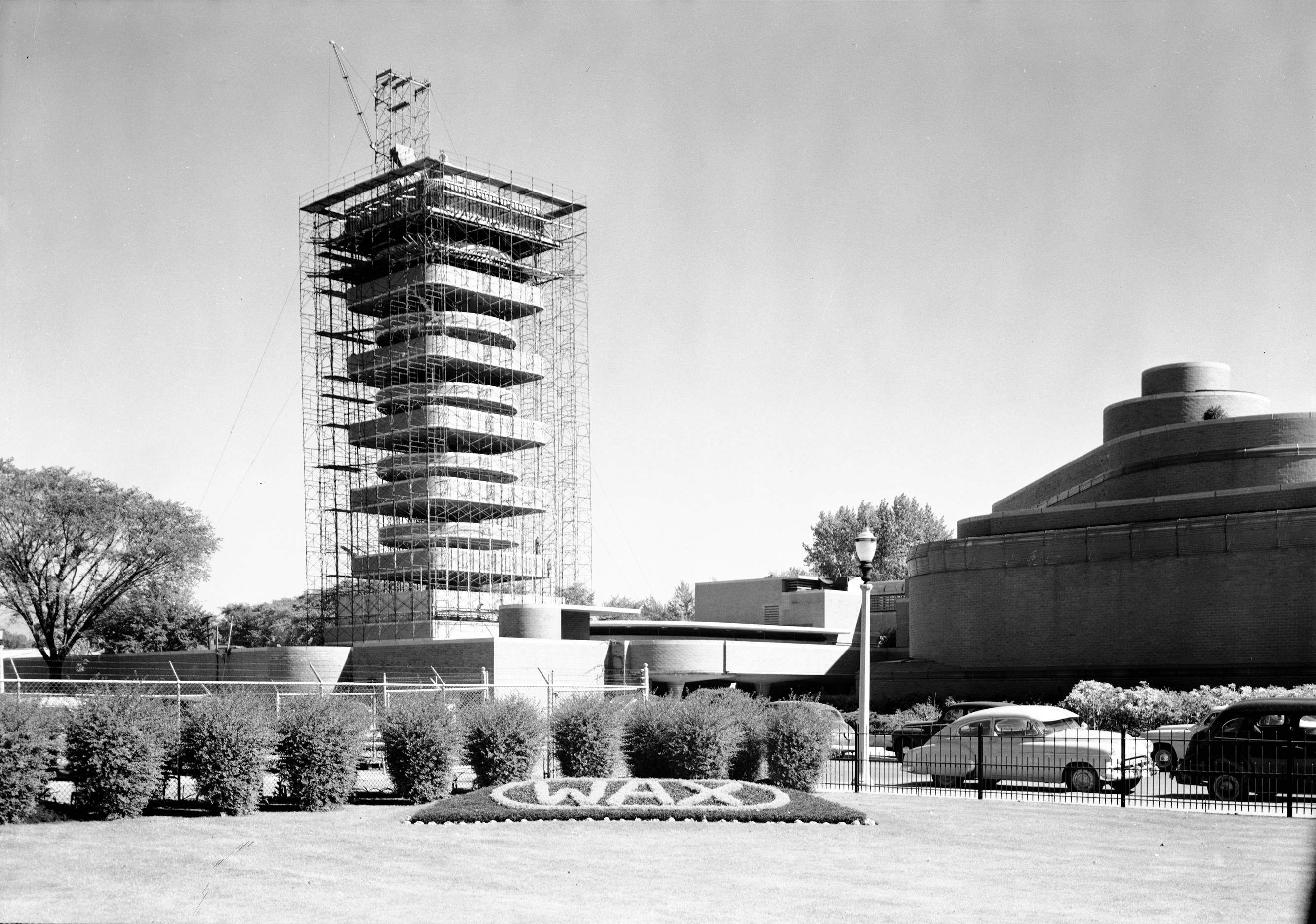 The Research Tower designed by Frank Lloyd Wright for home products giant SC Johnson in Racine, Wis., opened in 1950. The company is opening the building for public tours for the first time starting May 2.