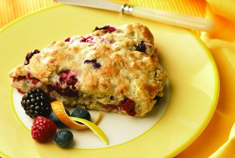 Try make these Triple Berry Scones at home.