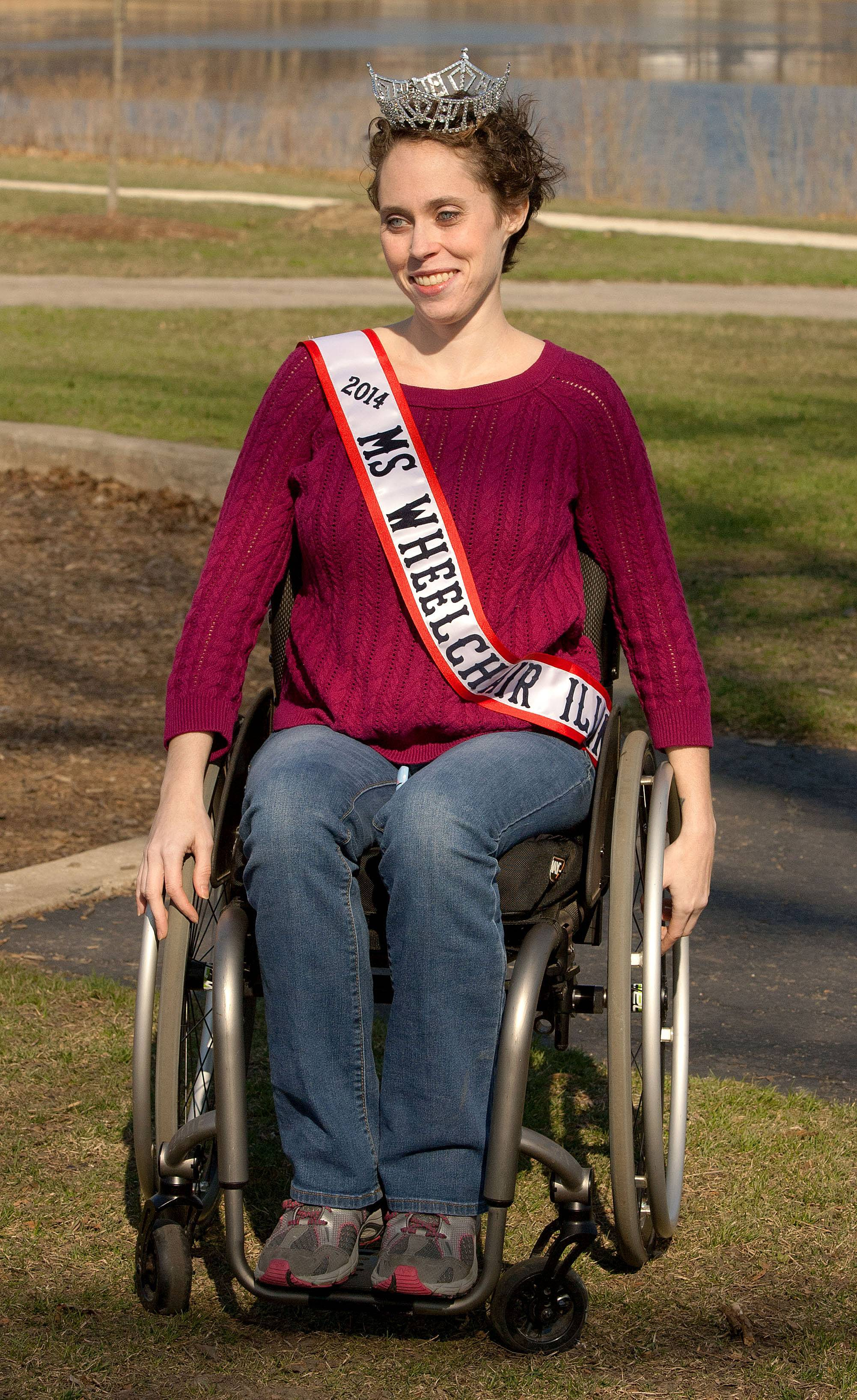 Lombard native Pearl Gannon recently was named Ms. Wheelchair Illinois. The 27-year-old hopes to use her title to raise awareness about disabilities and positive mental health for the disabled.