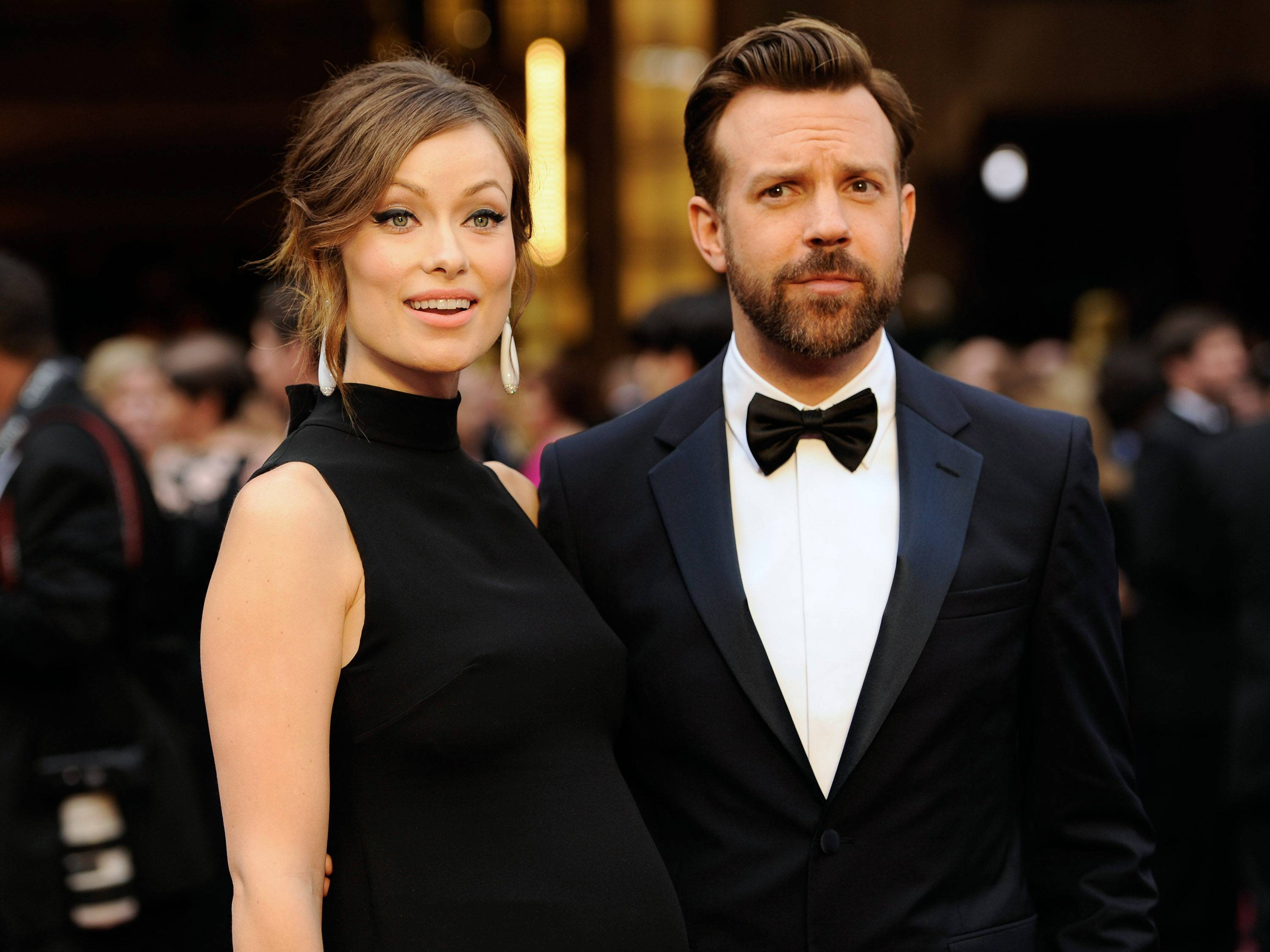 "It's a boy for Olivia Wilde and Jason Sudeikis. A spokeswoman for the ""Tron: Legacy"" actress said the couple welcomed son Otis Alexander on Sunday."