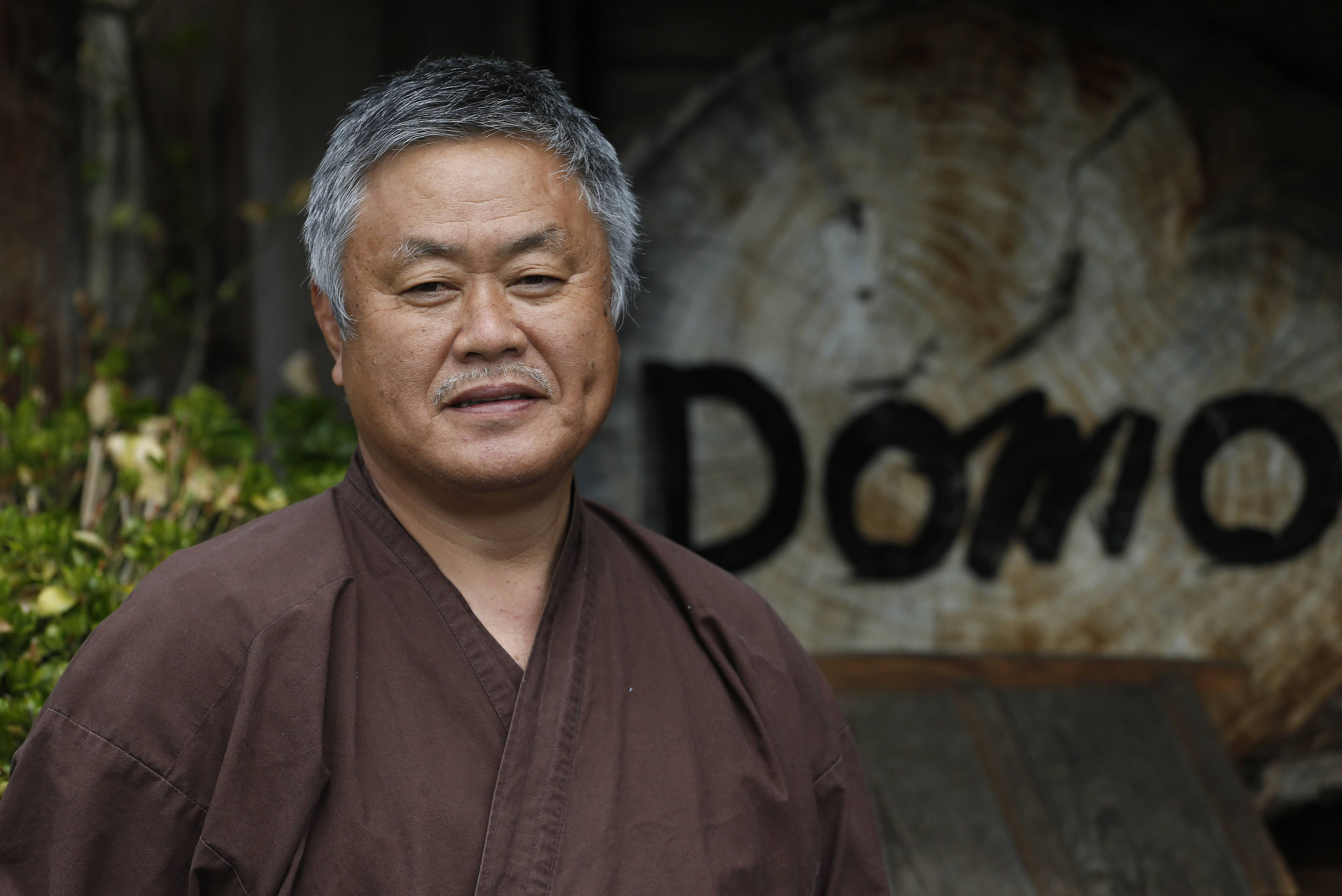 Domo owner and head chef Gaku Homma uses the profits not to enrich himself financially, but instead funds orphanages around the world.