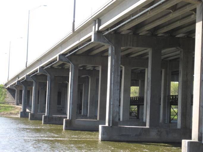 The I-90 bridge over the Fox River is living on borrowed time.