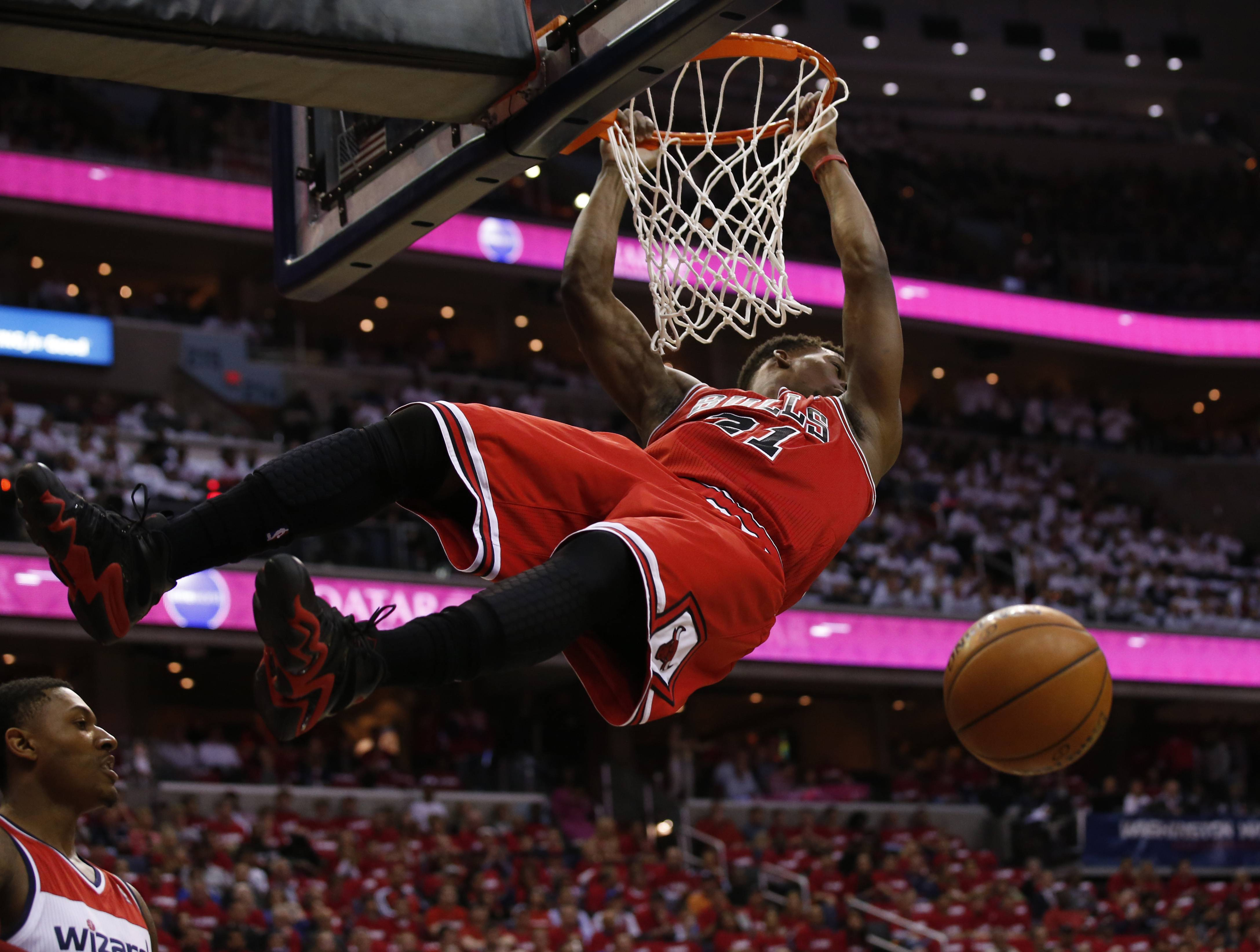 Images: Bulls vs Wizards, Game Three