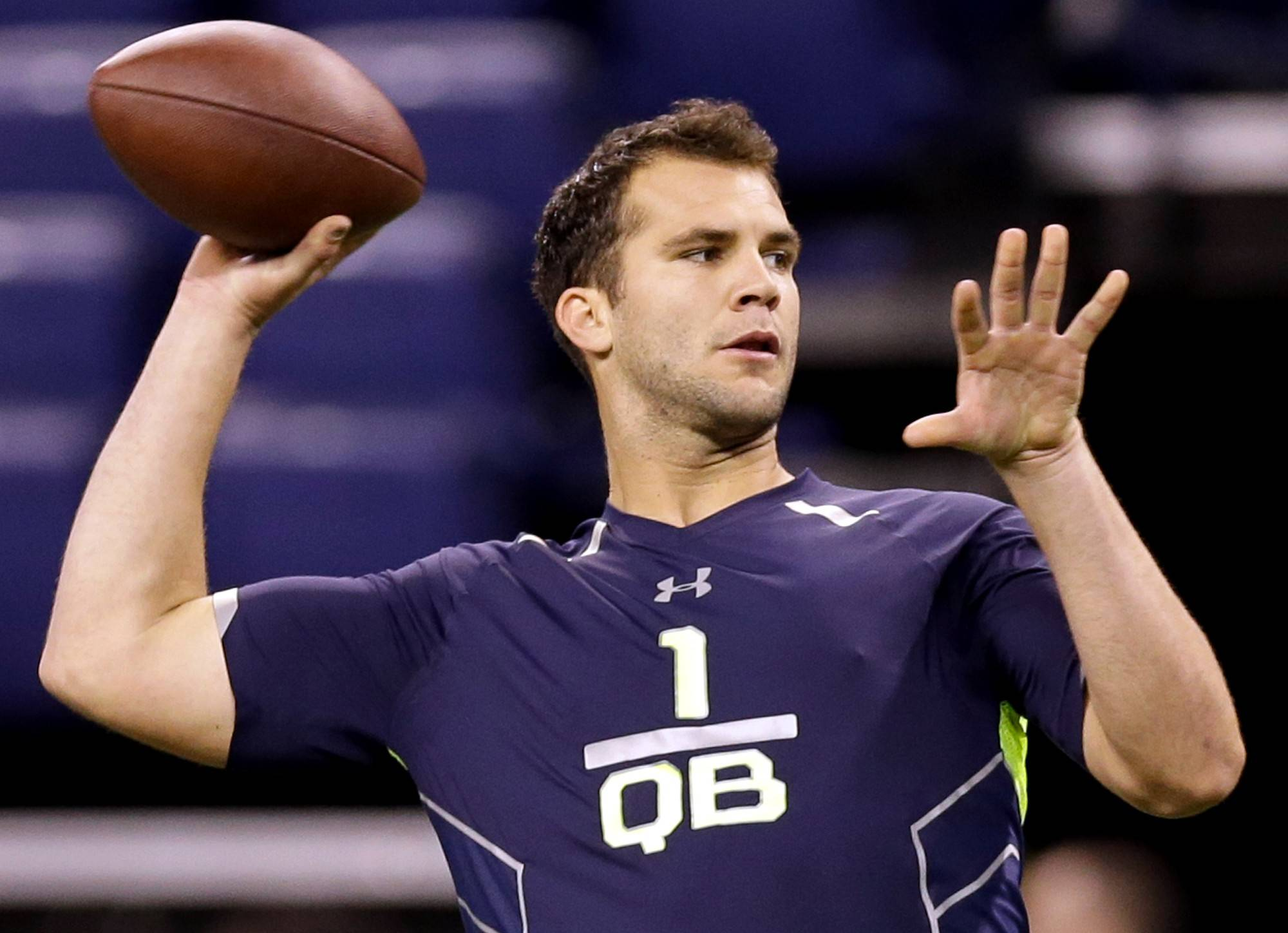 Central Florida quarterback Blake Bortles (6-5, 232). Bob LeGere's quick take: Size, mental makeup and athleticism are prototypical, but he lacks a great arm and pinpoint accuracy.