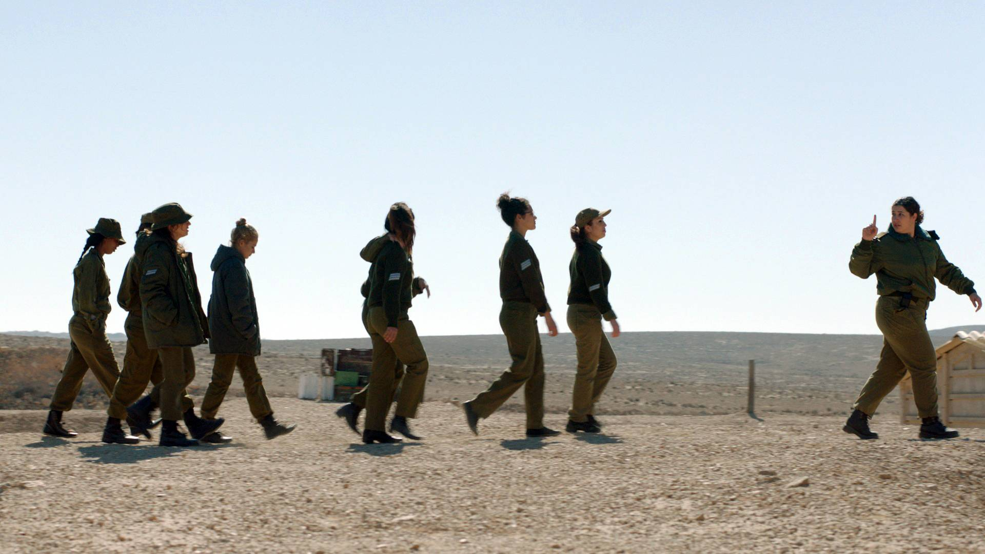 """Zero Motivation,"" about young female soldiers at a remote desert base in Israel, won best narrative feature at the Tribeca Film Festival in New York on Thursday."