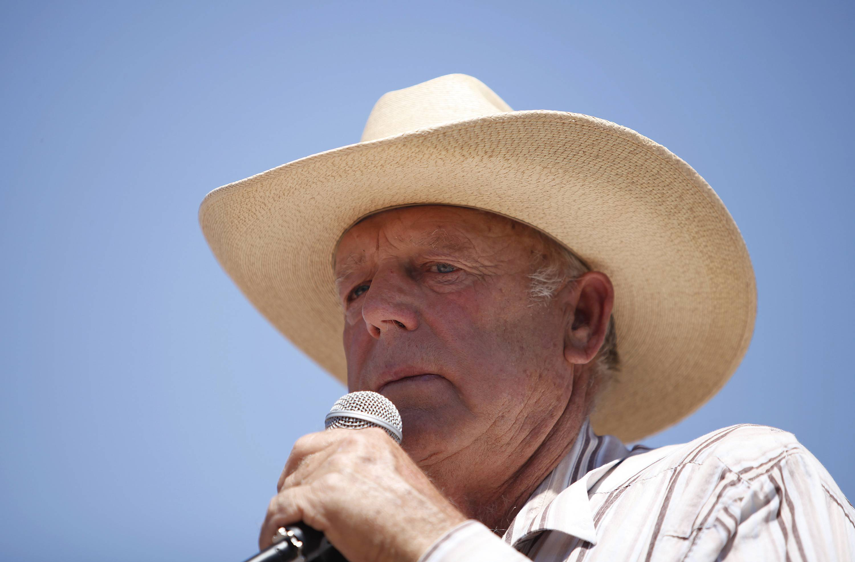 Rancher Cliven Bundy, a Nevada rancher who became a conservative folk hero for standing up to the government in a fight over grazing rights, lost some of his staunch defenders Thursday after wondering aloud whether blacks might have had it better under slavery.