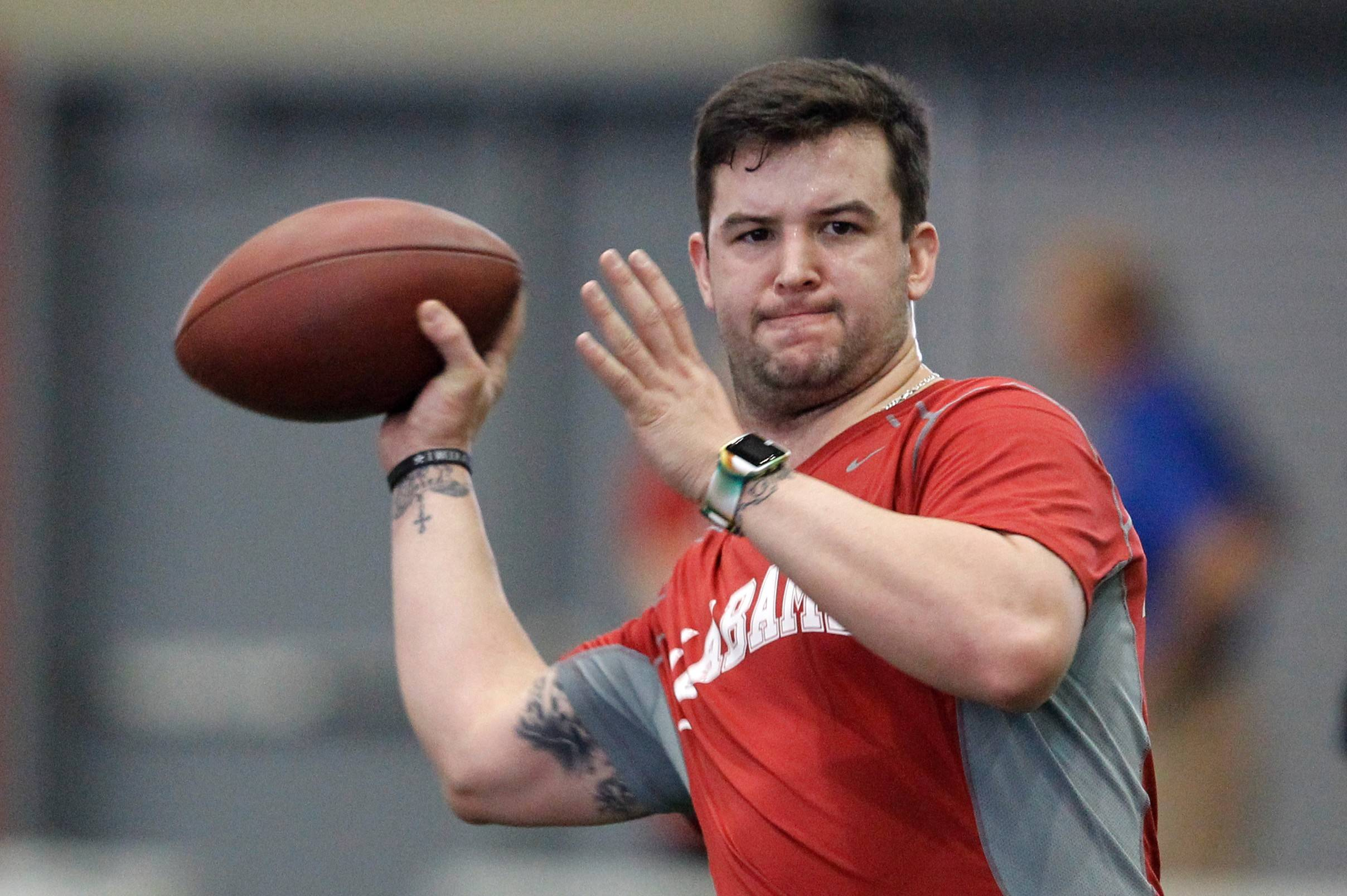 Alabama quarterback A.J. McCarron (6-3¼, 220). Bob LeGere's quick take: Not a physical specimen, but a tough guy who wins (36-4 with 2 national titles) and knows how to lead.