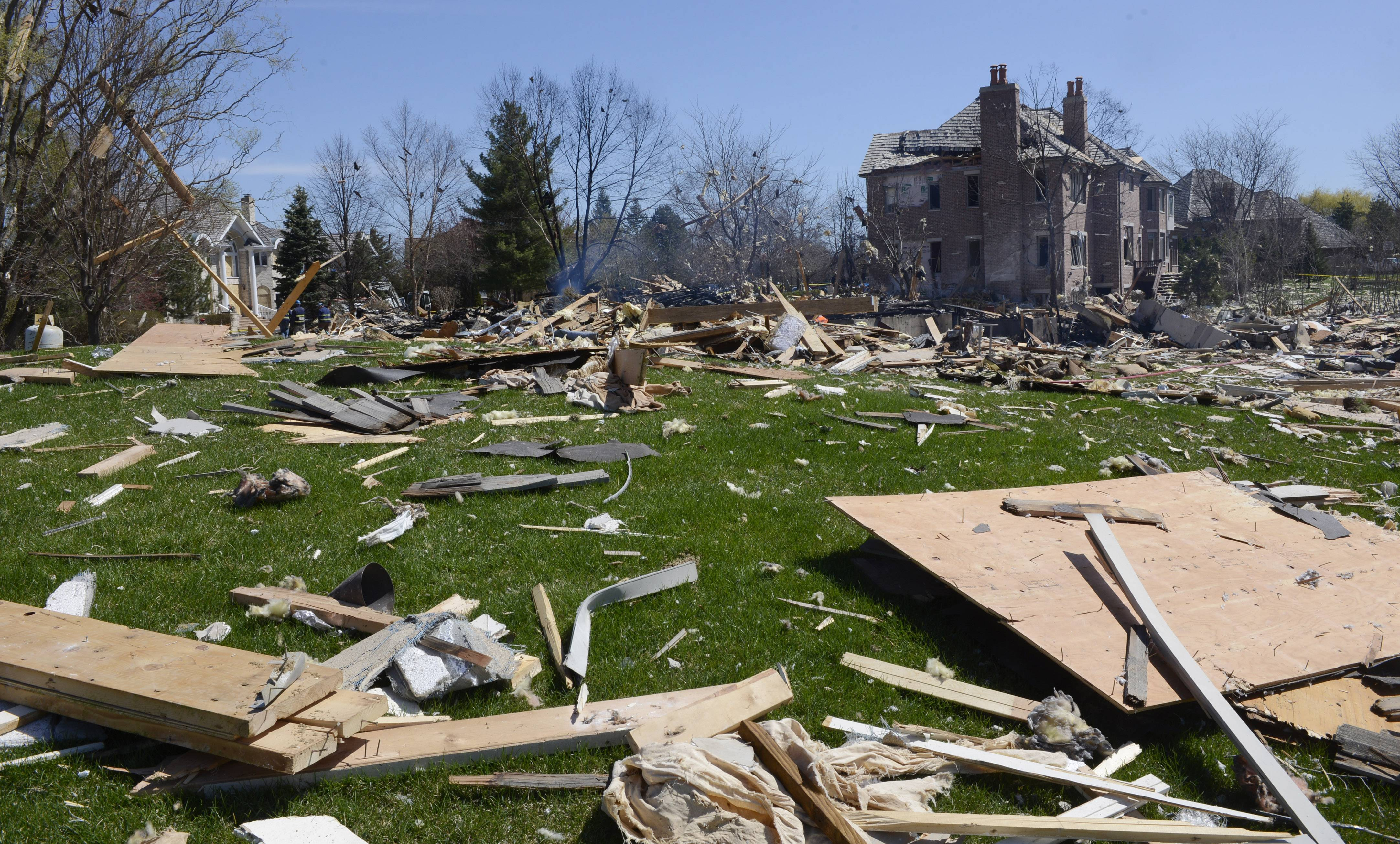 Images: The day after Long Grove house explosion