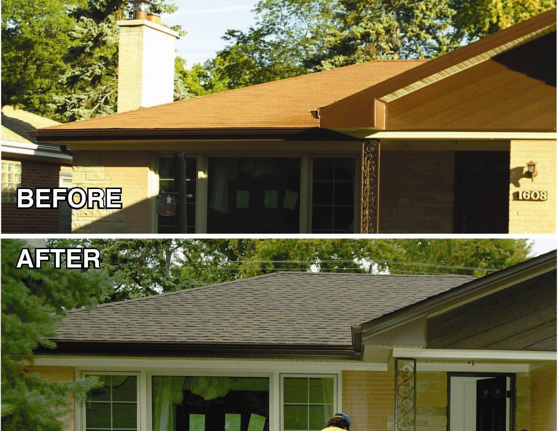 Consider a lighter color shingle to save on energy costs.