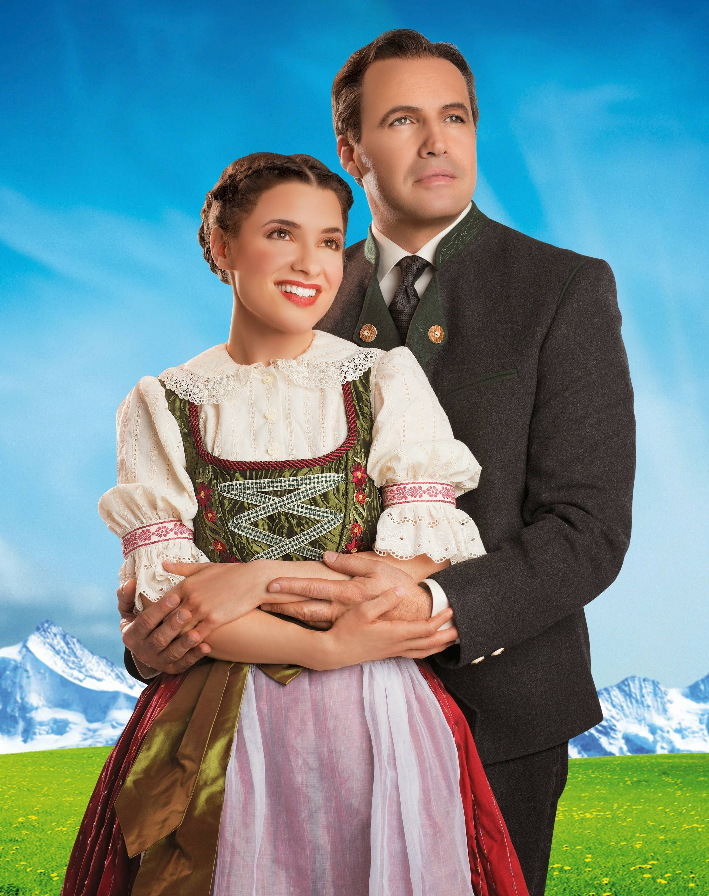 "Jenn Gambatese and Billy Zane star in the Lyric Opera of Chicago's new production of the classic Rodgers and Hammerstein musical ""The Sound of Music."""