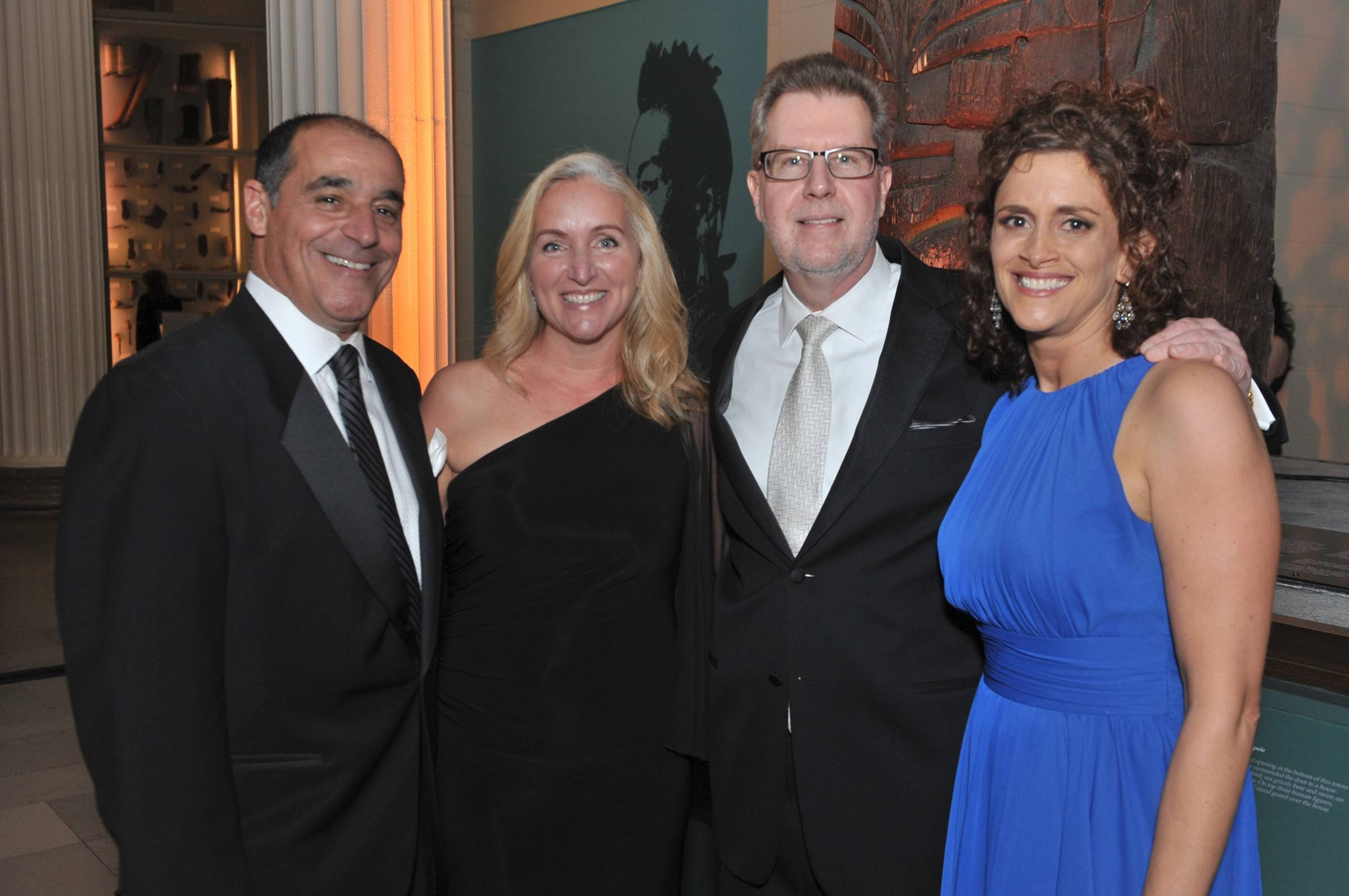 Jeff and Molly Karp of Crystal Lake with Mark Frey and Melanie Furlan. Jeff Karp is CEO of Power Construction Company, one of the Diamond Sponsors for the Alexian Brothers Ball de Fleur.
