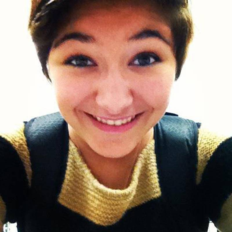 This undated image of Maren Sanchez provided by her family is from Maren Sanchez's Facebook page. A 16-year-old teenager is accused of fatally stabbing 16-year-old Maren Sanchez Friday, April 25, 2014 in the hallway of Jonathan Law High School in Milford.