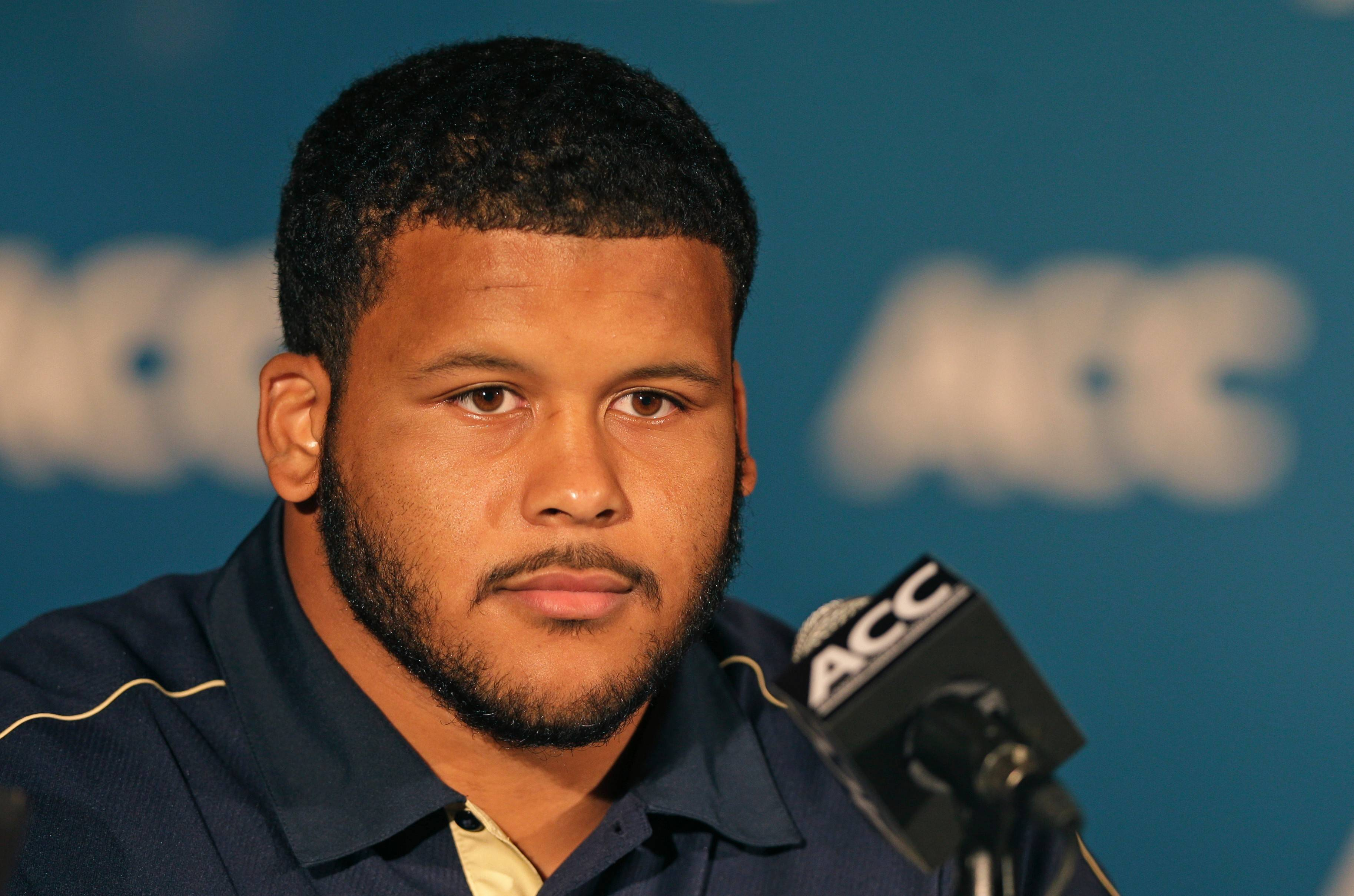 Pittsburgh's Aaron Donald earned the defensive lineman four major college football awards and a spot as a first-team All-American.
