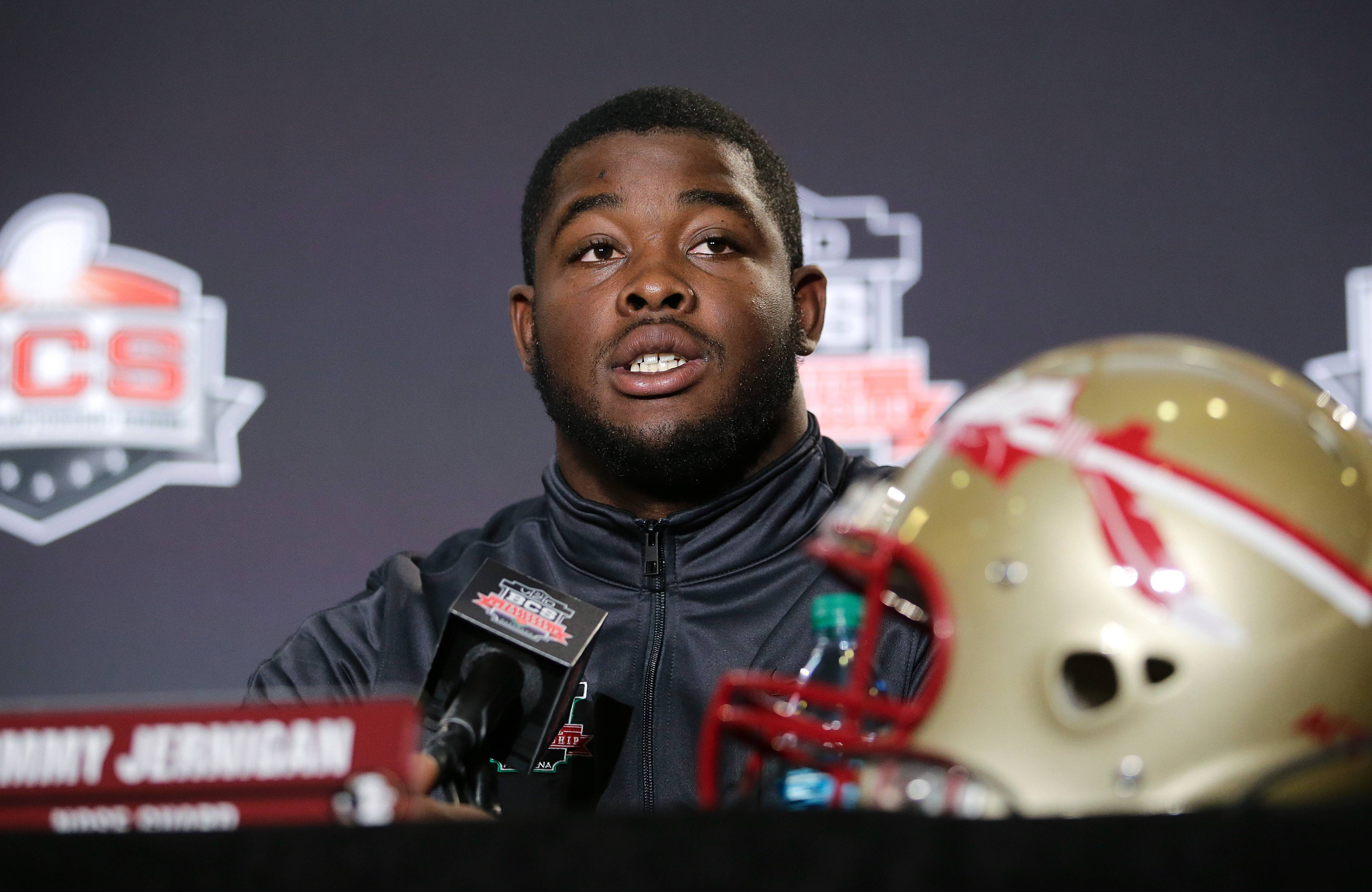 Florida State defensive tackle Timmy Jernigan could be of interest to the Bears.