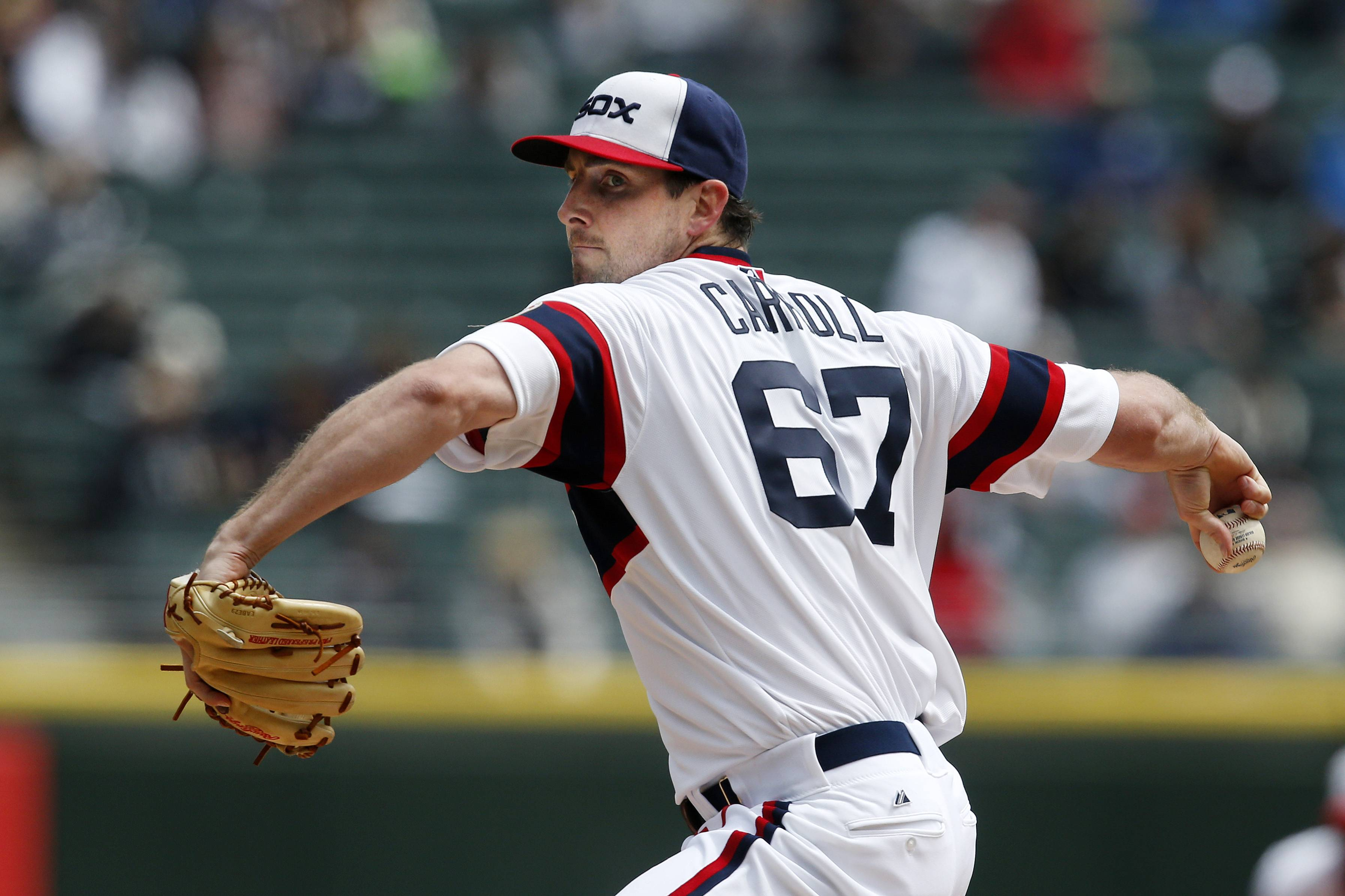 Making his first start for the White Sox, Scott Carroll breezed through 7⅓ innings and allowed 2 runs (1 earned) on 6 hits and 2 walks while throwing a very efficient 100 pitches against the Tampa Bay Rays at U.S. Cellular Field on Sunday.