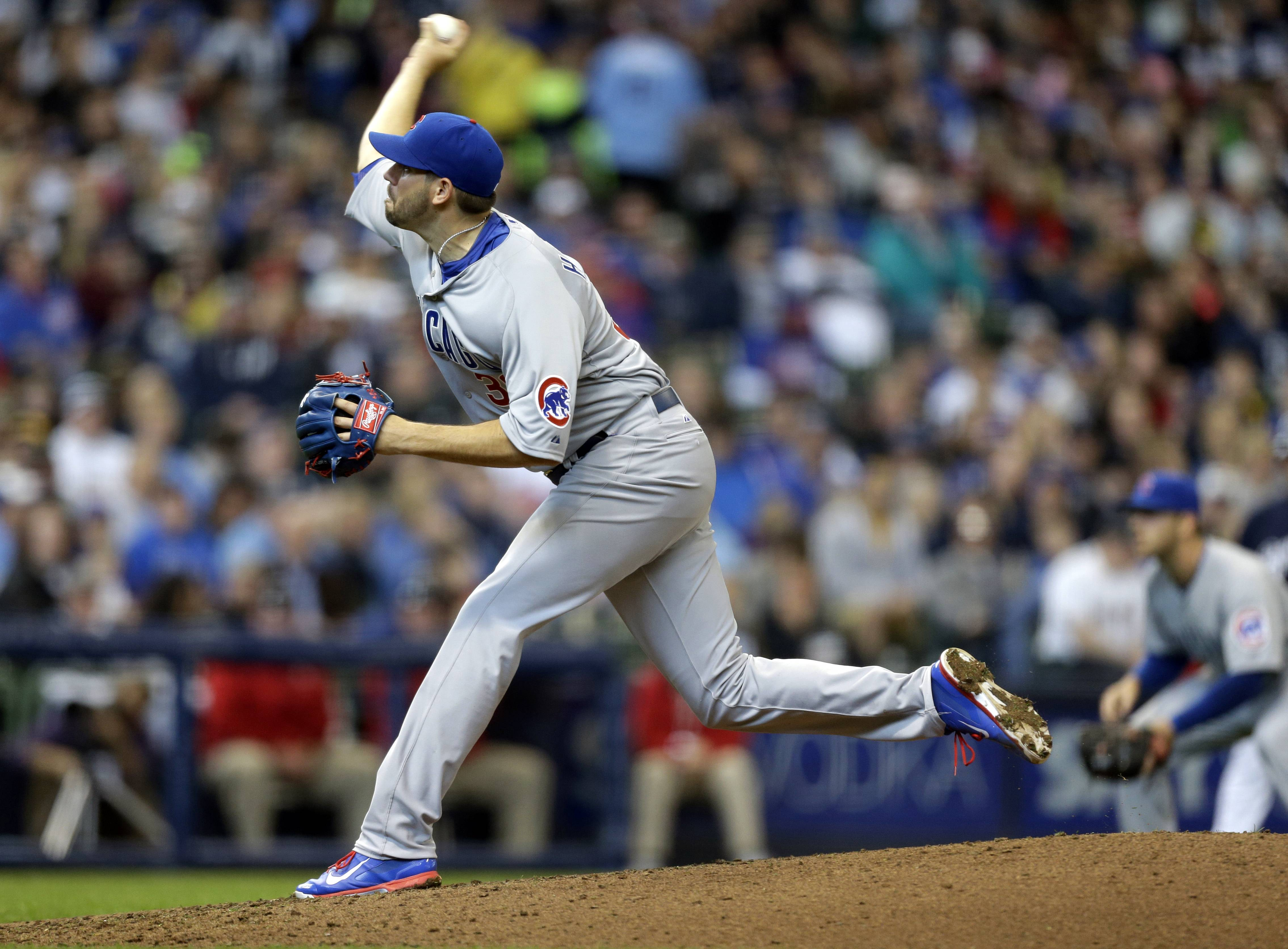 Cubs starter Jason Hammel worked 7-plus innings and took a no-hitter into the sixth against the host Brewers on Sunday. He has recorded in 5 quality starts in 5 outings and has a record of 4-1 with a 2.08 ERA.
