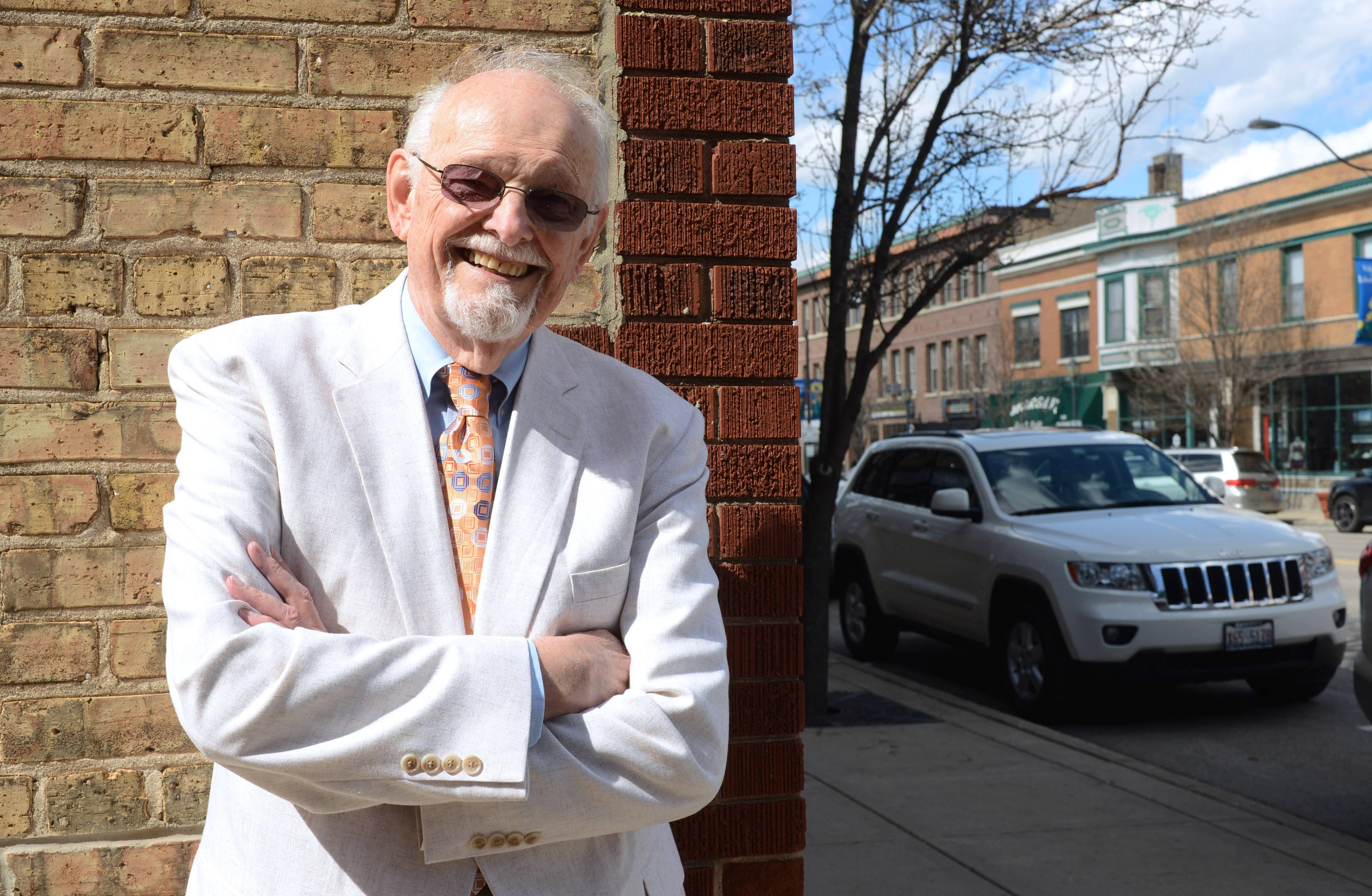 Dan Mayworm was the catalyst for MainStreet Libertyville and its original chairman.