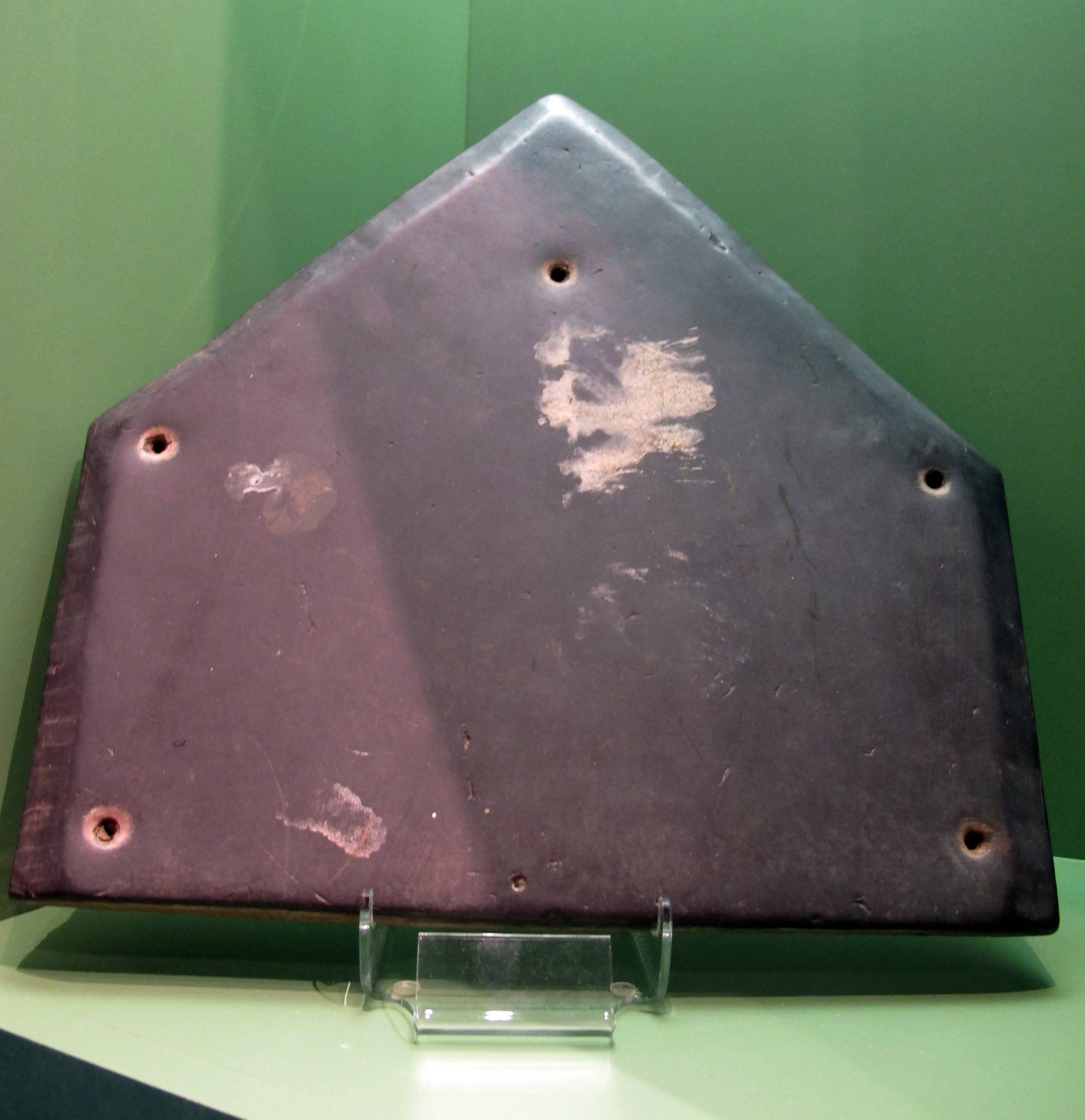The home plate used in the first Little League game in 1939 is displayed at the Little League museum in South Williamsport, Pa.