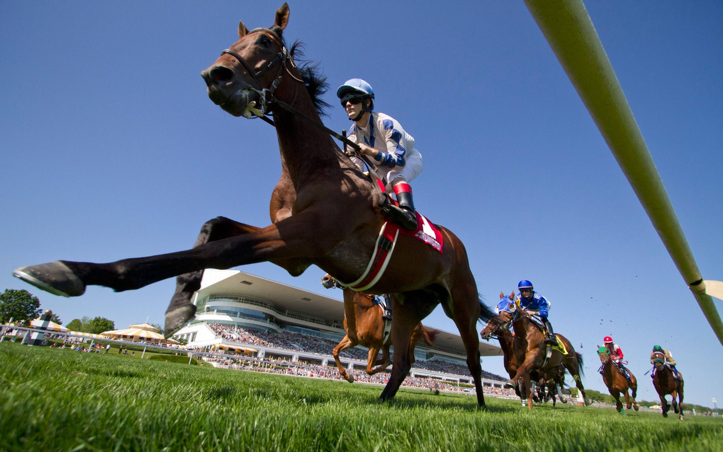 Arlington International Racecourse opens its 2014 season on Friday, May 2, which is followed up by Kentucky Derby Day on Saturday, May 3.