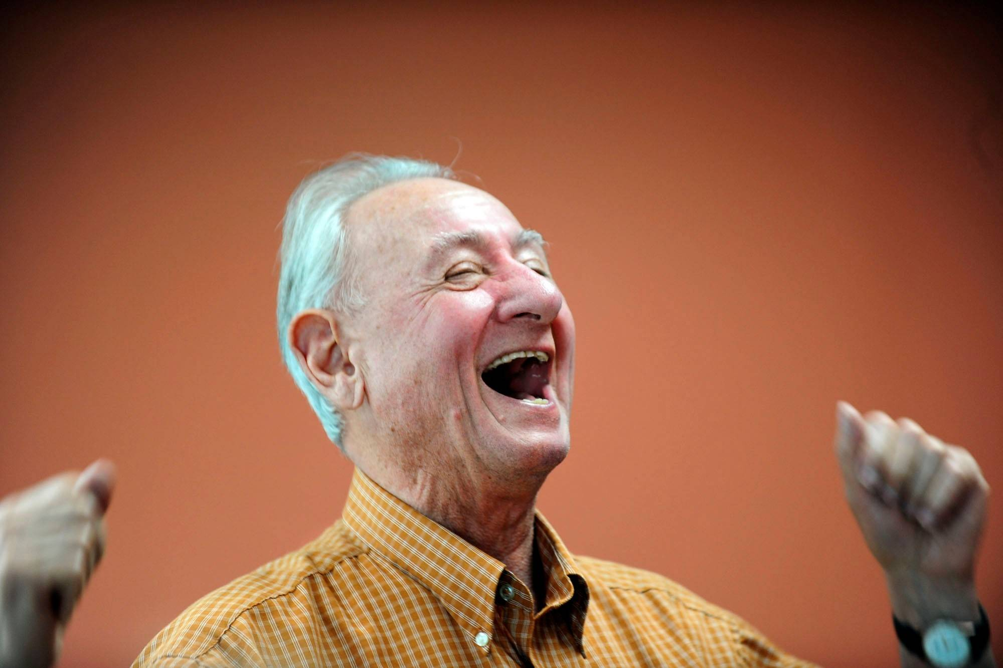A new study shows laughter may improve short-term memory.
