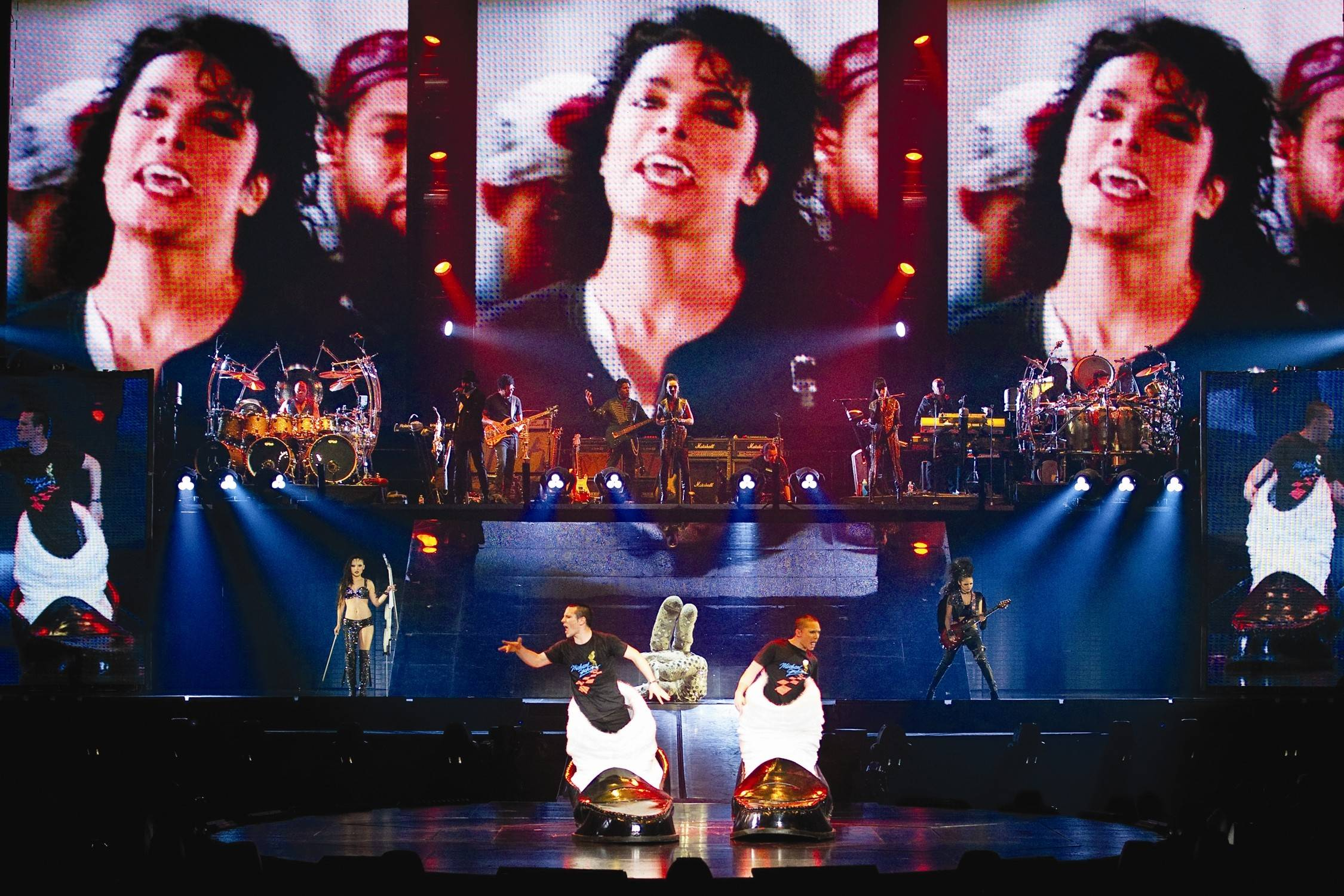 "Cirque du Soleil's ""Michael Jackson The Immortal World Tour"" will be performed Friday, June 27 and Saturday, June 28 at the Sears Centre Arena in Hoffman Estates."