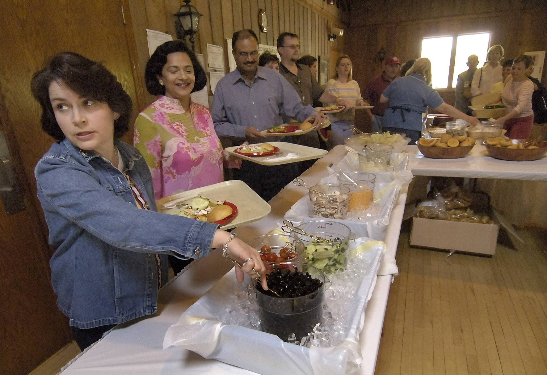 Exchange Club of Gurnee's Salad in the Park fundraiser returns for its 26th year from 11 a.m. to 2 p.m. Tuesday, May 13, at Gurnee Park District's Viking Park Dance Hall.