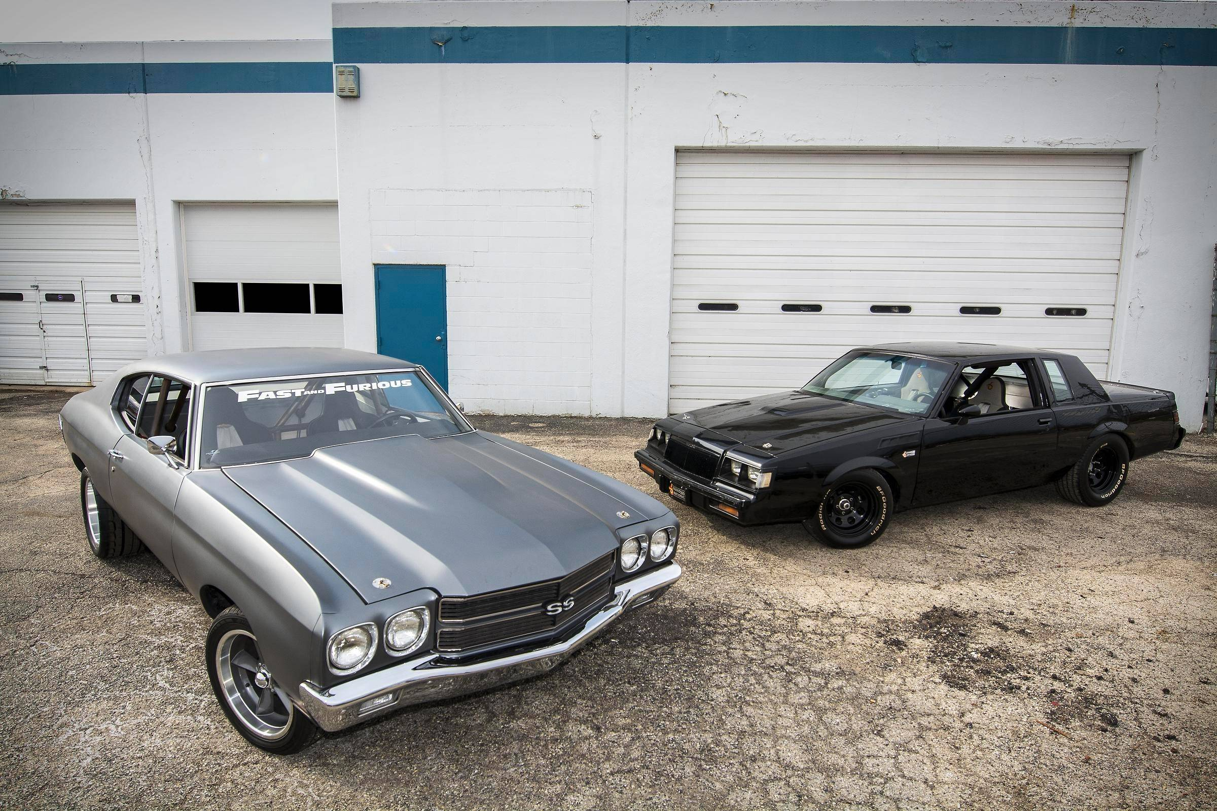 1970 Chevrolet Chevelle SS and 1984 Buick Grand National