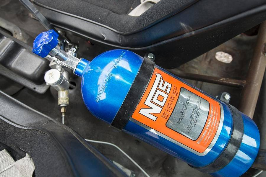 "While nitrous oxide plays a crucial role in fueling many of the ""Fast & Furious"" autos, the NOS systems in Ingrassia's cars are just for looks and not functional."