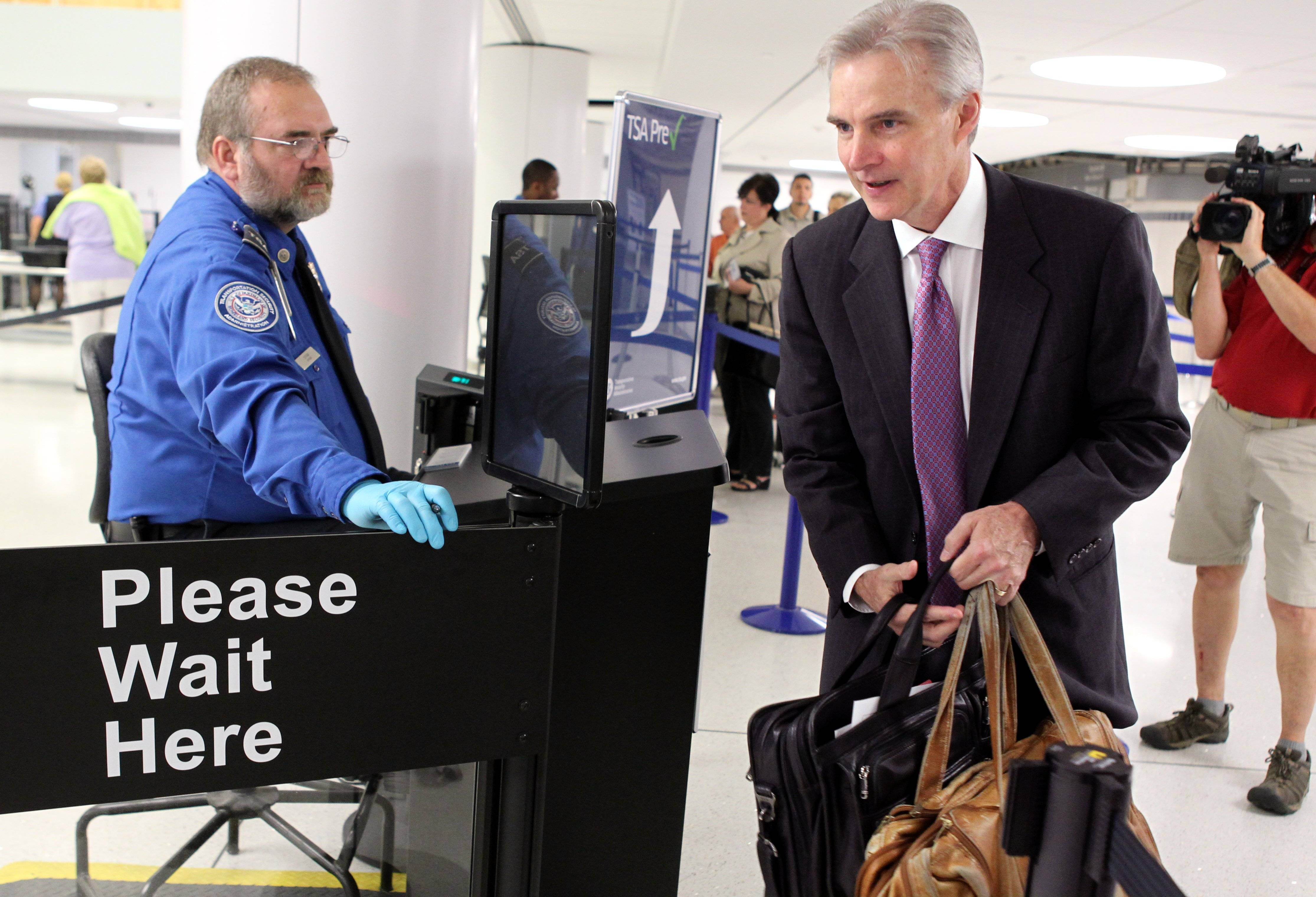 The TSA is expanding its PreCheck expedited screening program to passengers on international airlines. Air Canada on Tuesday, April 29, 2014 became the first international carrier to participate, with TSA officials saying other international airlines would soon sign on.