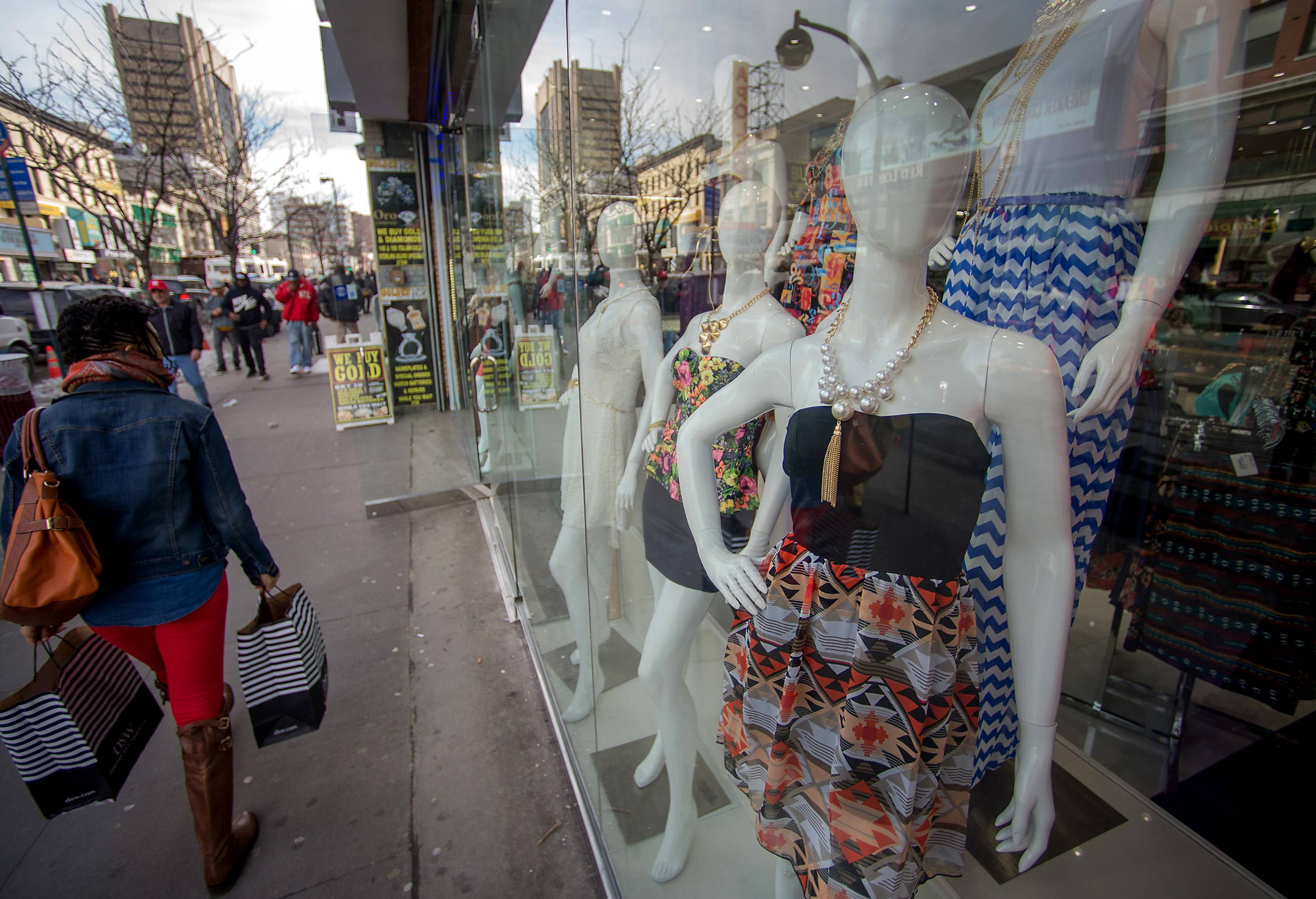 U.S. consumer confidence fell in April over concerns about hiring and business conditions, even though many people foresee a strengthening economy in the months ahead.