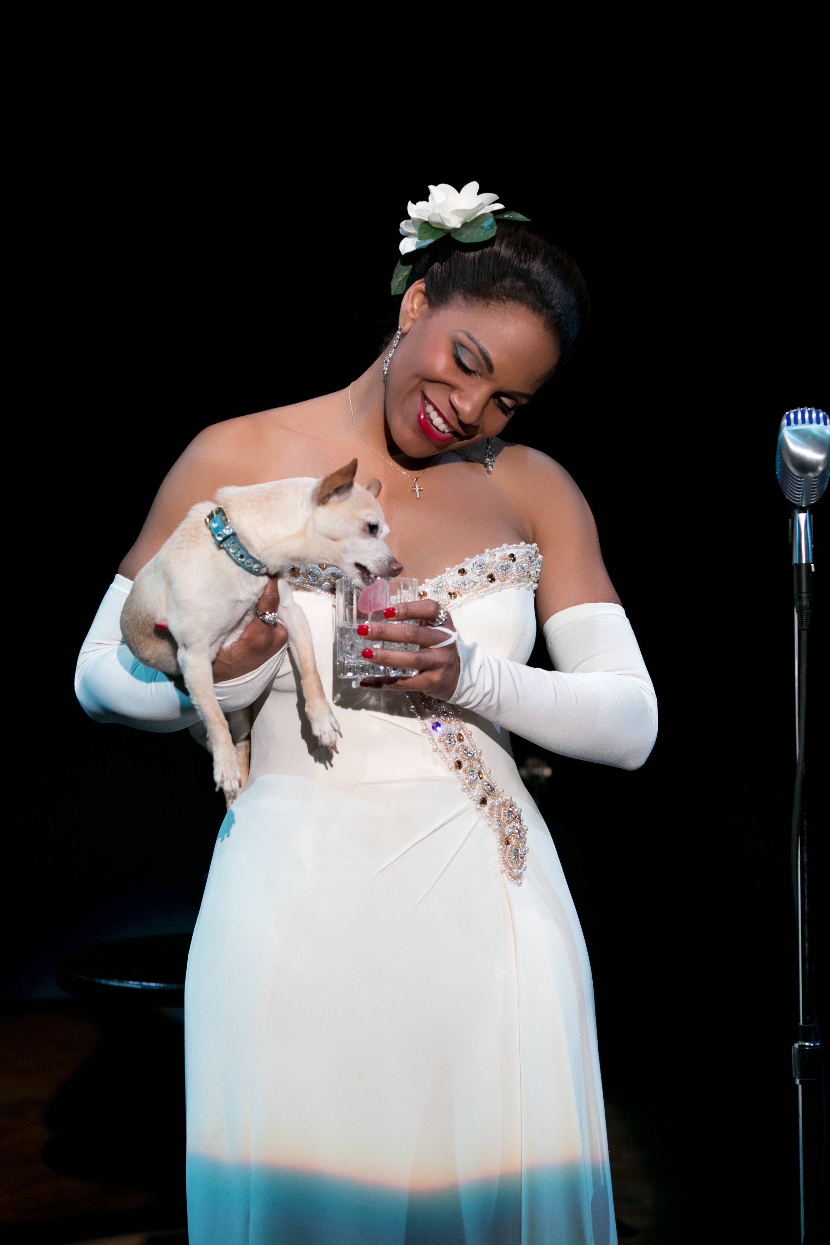 "Audra McDonald earned a Tony nomination as Billie Holiday in ""Lady Day at Emerson's Bar & Grill,"" meaning she is in a position to make history as the Tonys' first grand-slam performance winner."