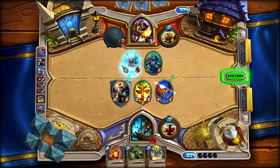 "Essentially, ""Hearthstone: Heroes of Warcraft"" is a one-on-one card duel."